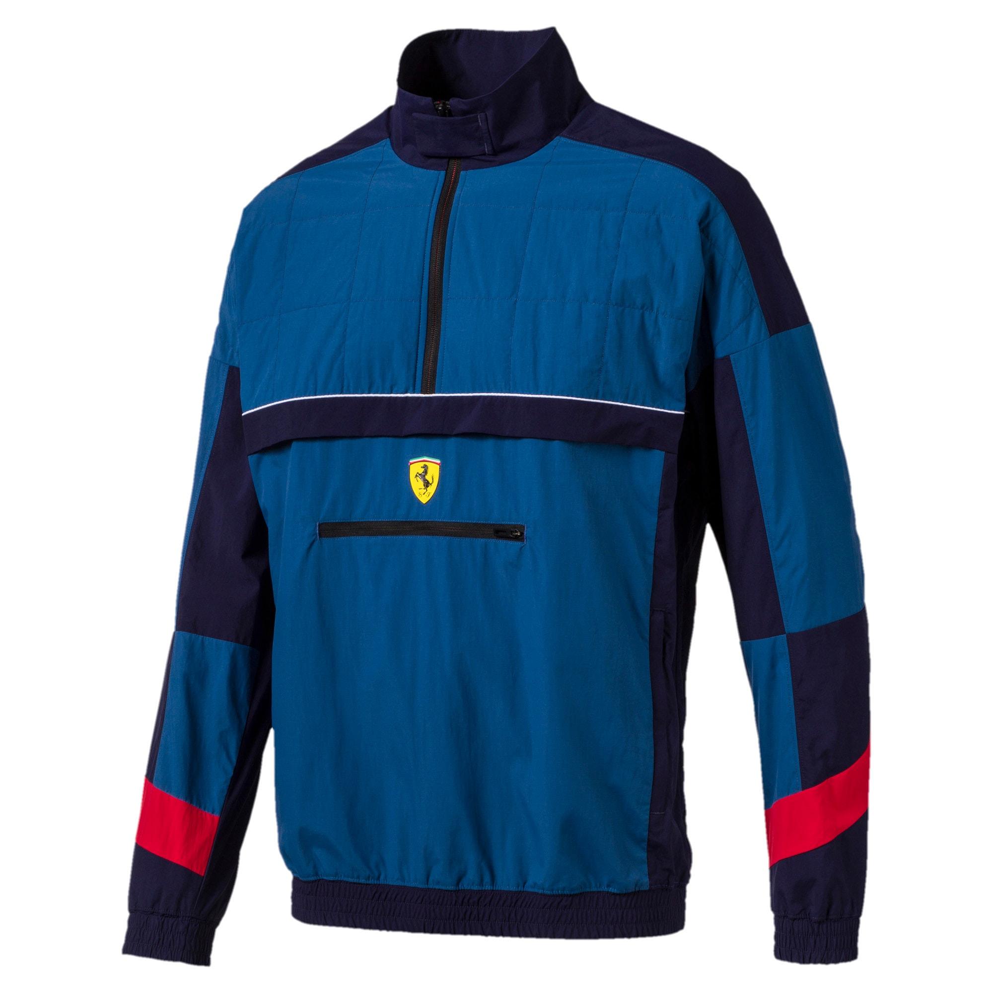 Thumbnail 4 van Ferrari Street geweven jas voor mannen, Galaxy-blauw, medium