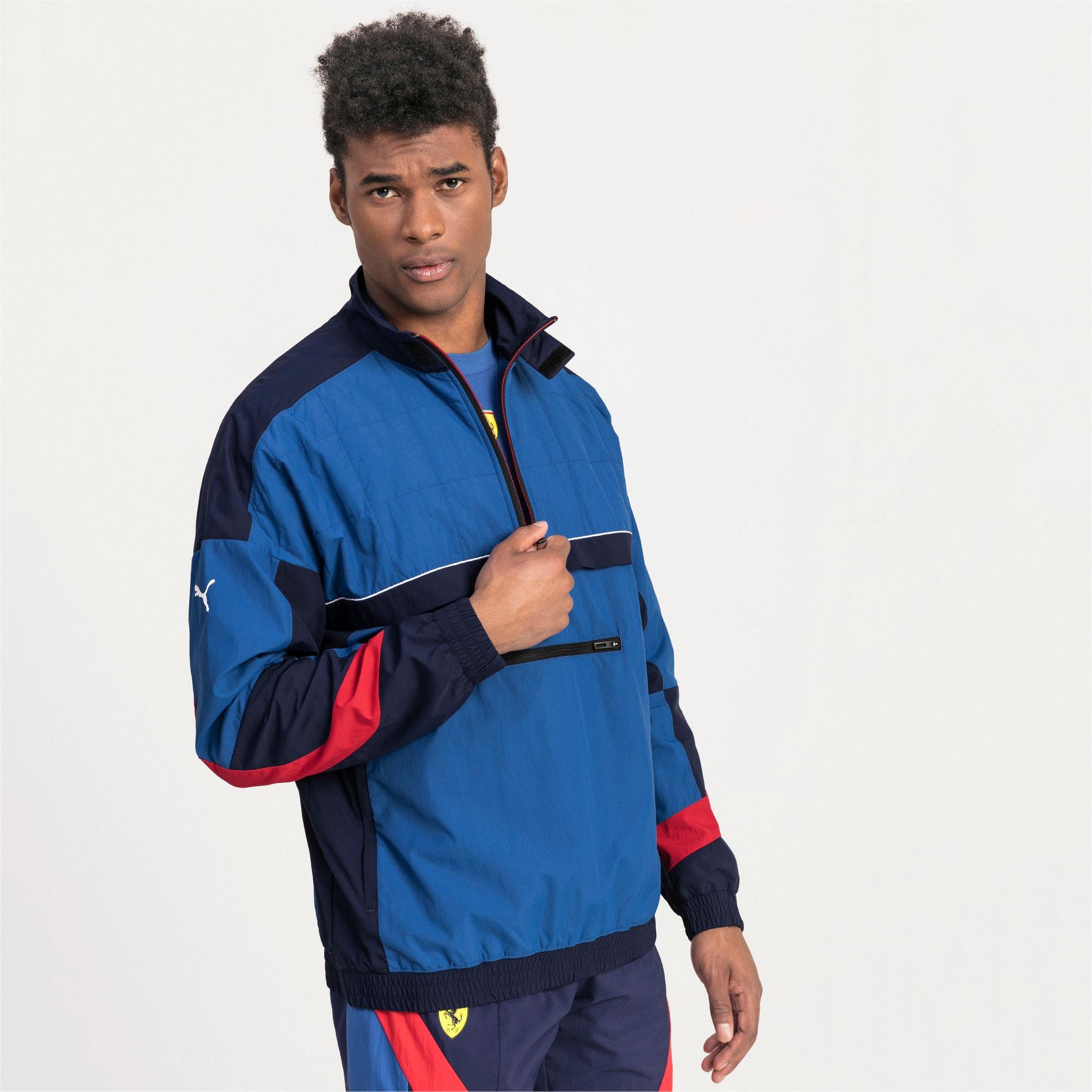 Thumbnail 1 van Ferrari Street geweven jas voor mannen, Galaxy-blauw, medium