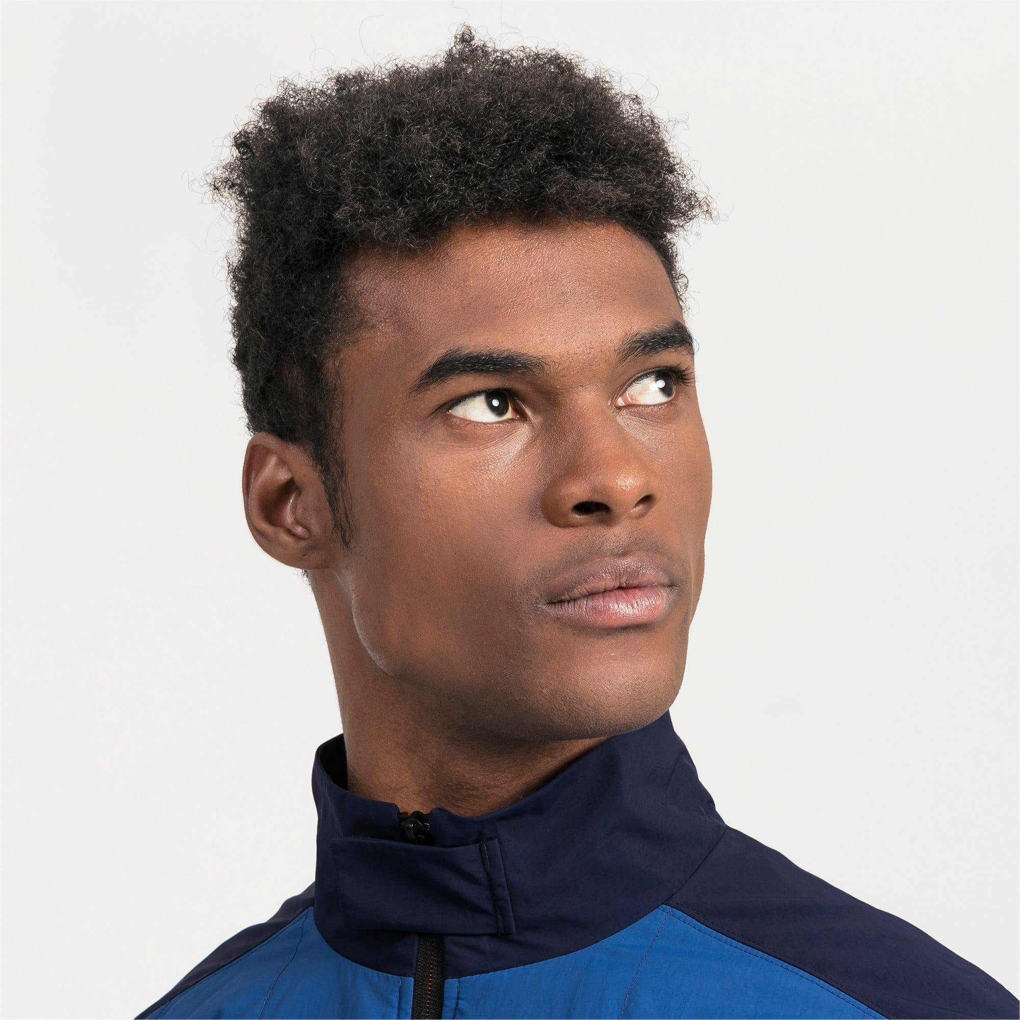 Thumbnail 3 van Ferrari Street geweven jas voor mannen, Galaxy-blauw, medium