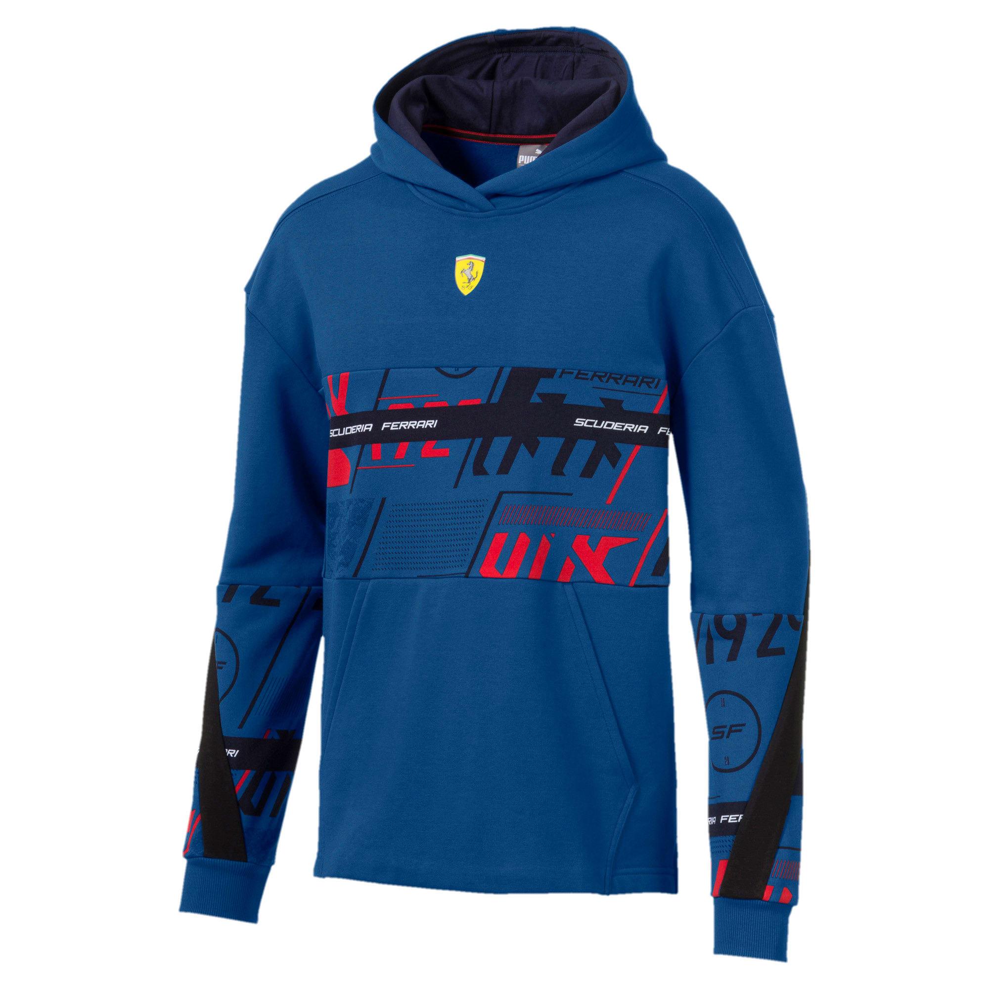 Thumbnail 4 of Sweatshirt à capuche Ferrari Street pour homme, Galaxy Blue, medium