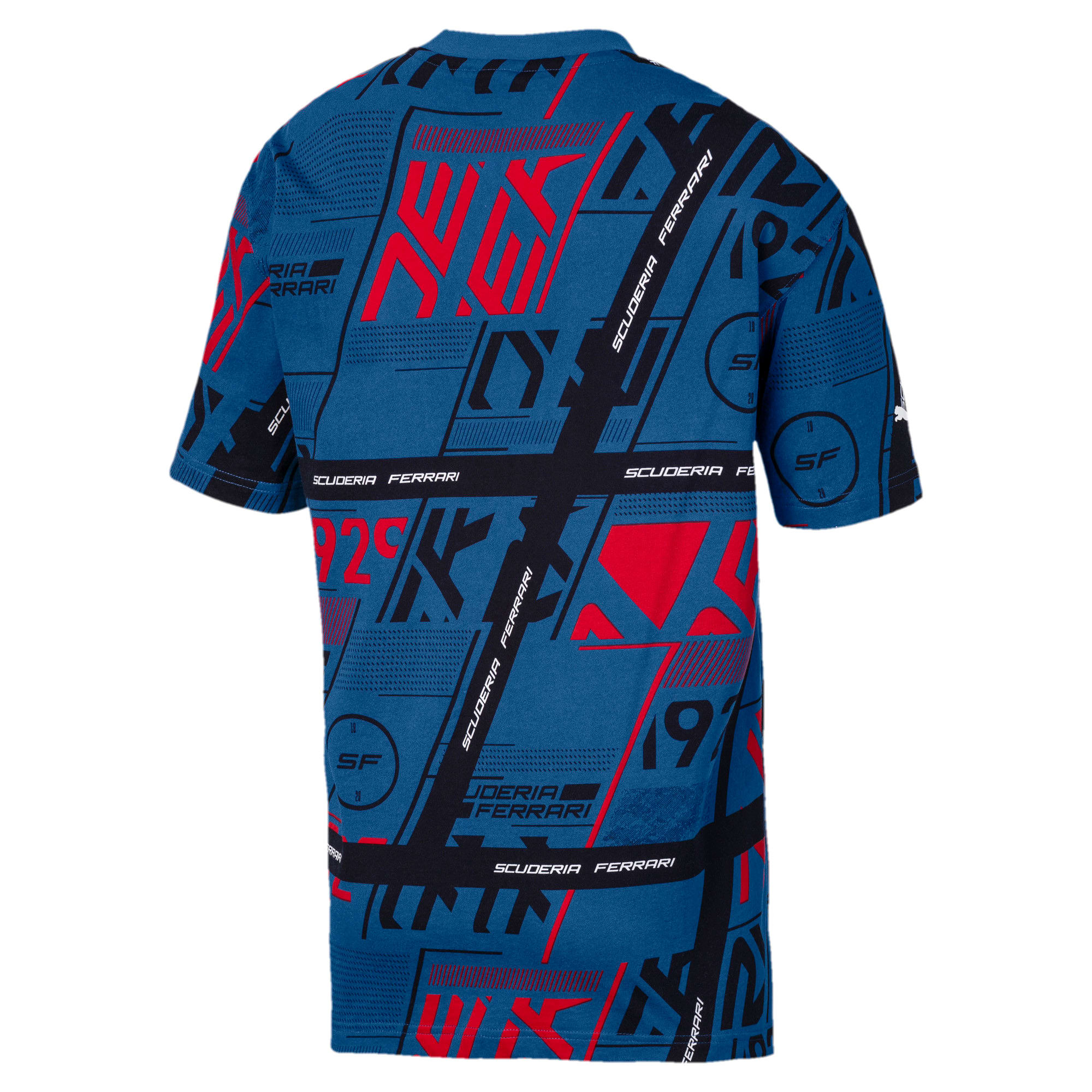 Thumbnail 3 of フェラーリ ストリート Tシャツ 半袖, Galaxy Blue, medium-JPN