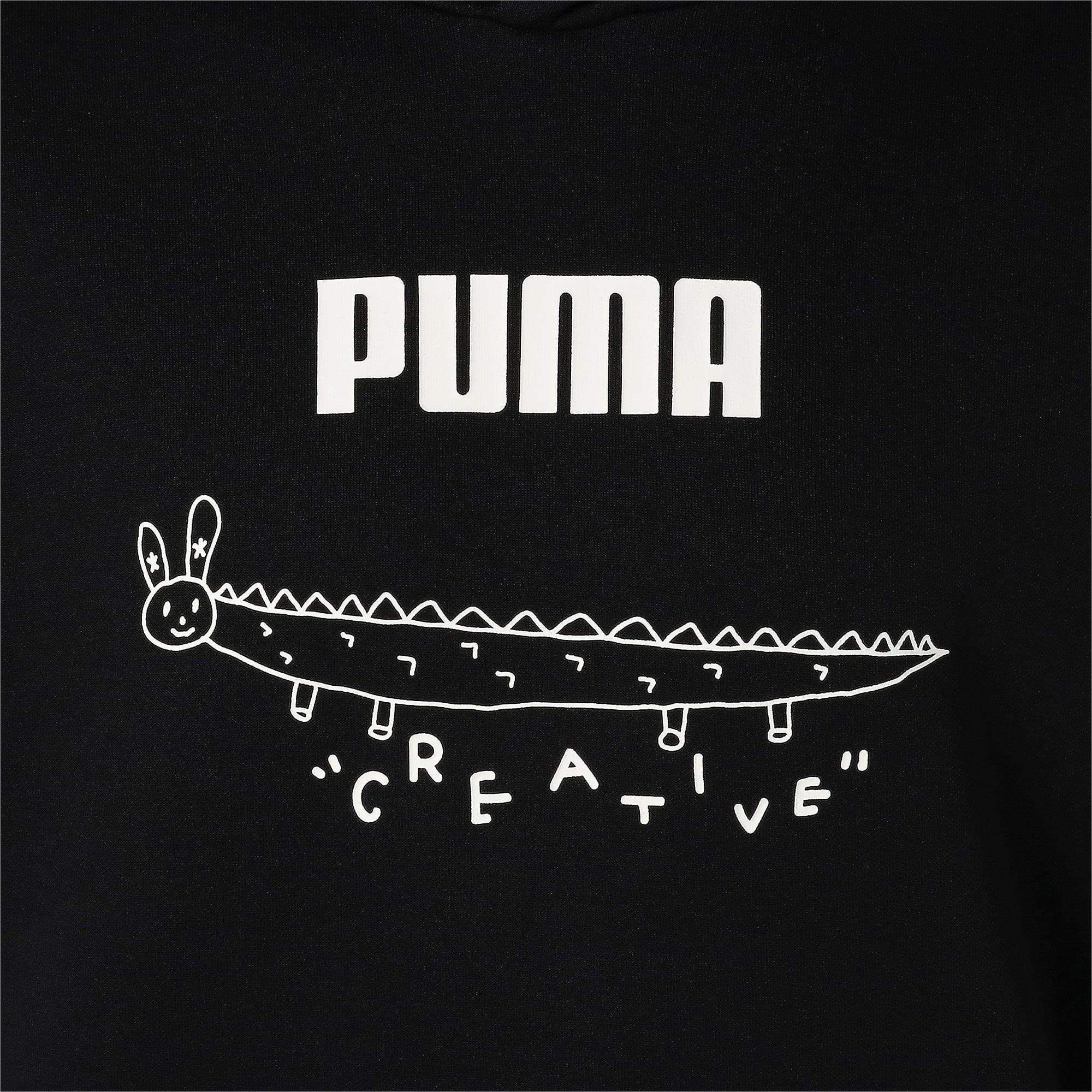 Thumbnail 7 of PUMA x TYAKASHA フーディー, Cotton Black, medium-JPN