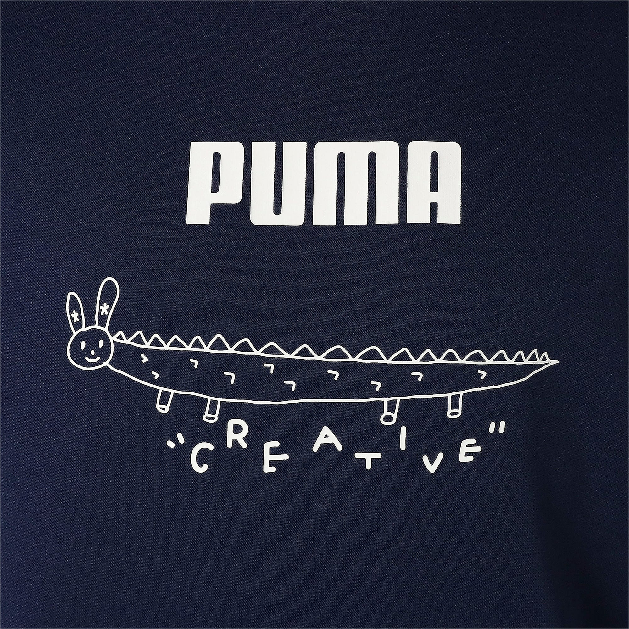 Thumbnail 7 of PUMA x TYAKASHA フーディー, Peacoat, medium-JPN