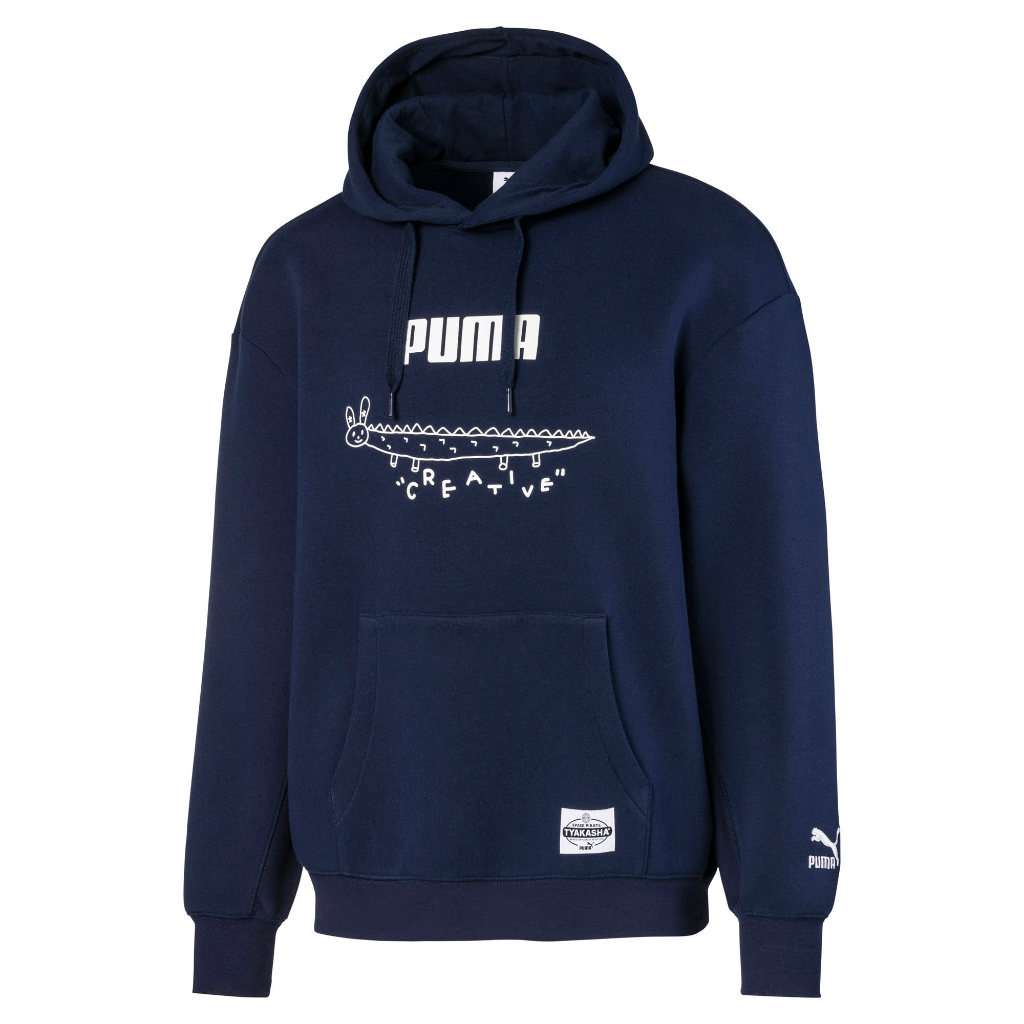 Thumbnail 1 of PUMA x TYAKASHA フーディー, Peacoat, medium-JPN
