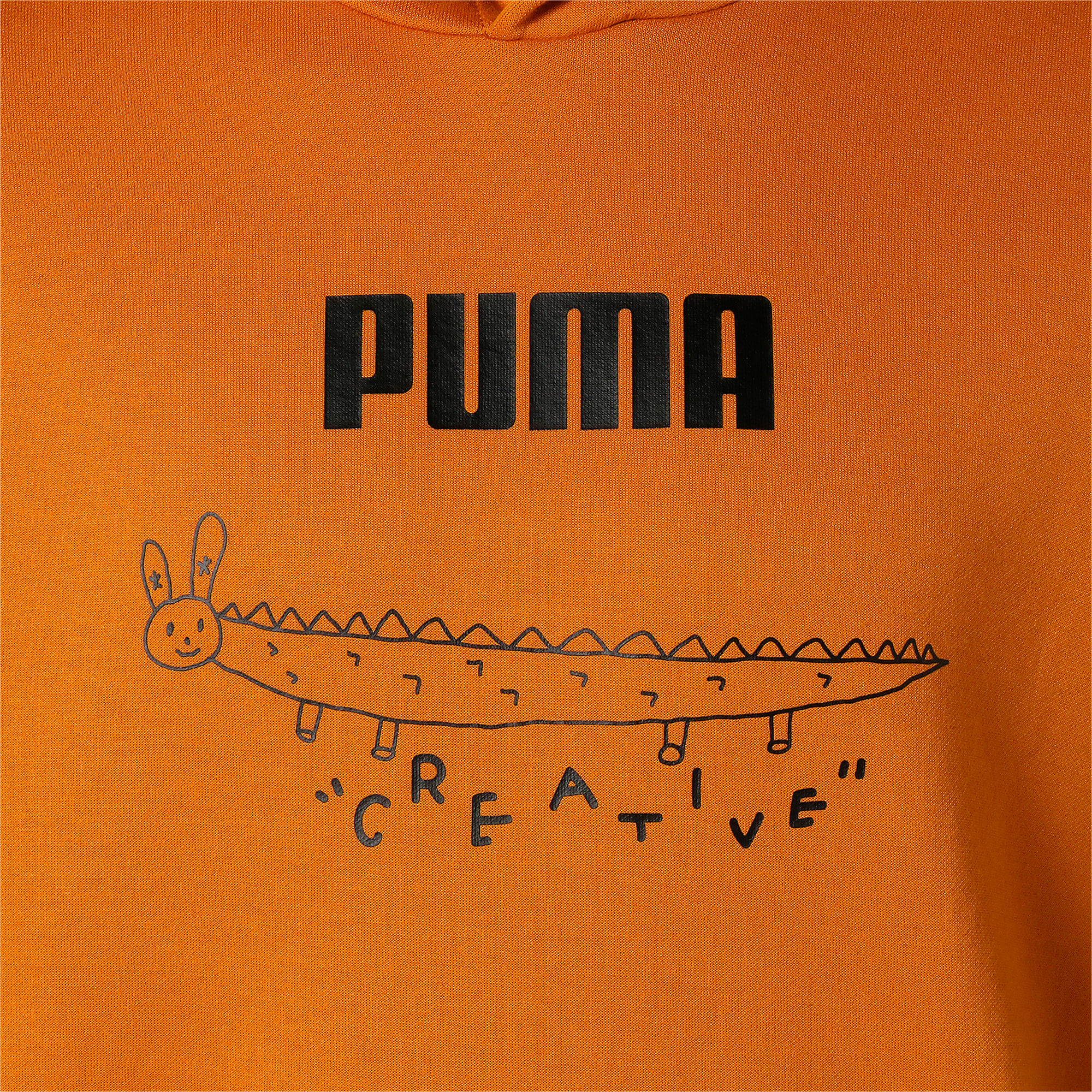 Thumbnail 8 of PUMA x TYAKASHA フーディー, Buckthorn Brown, medium-JPN