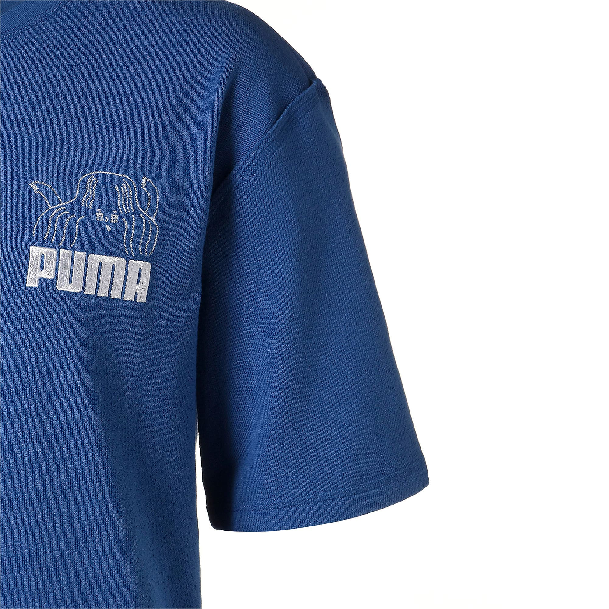 Thumbnail 5 of PUMA x TYAKASHA Tシャツ, Galaxy Blue, medium-JPN