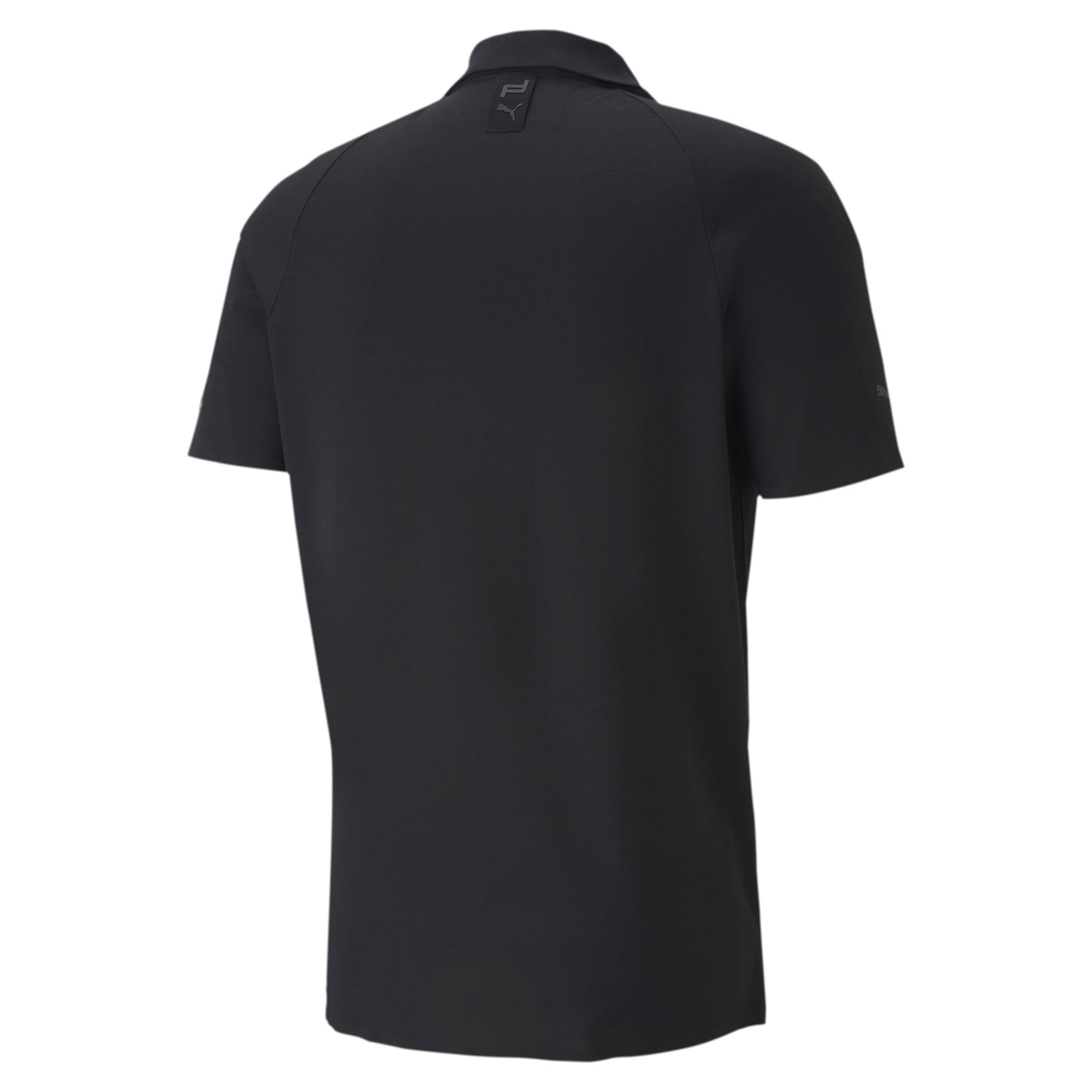 Thumbnail 5 of Men's Motorsports Polo, Jet Black, medium