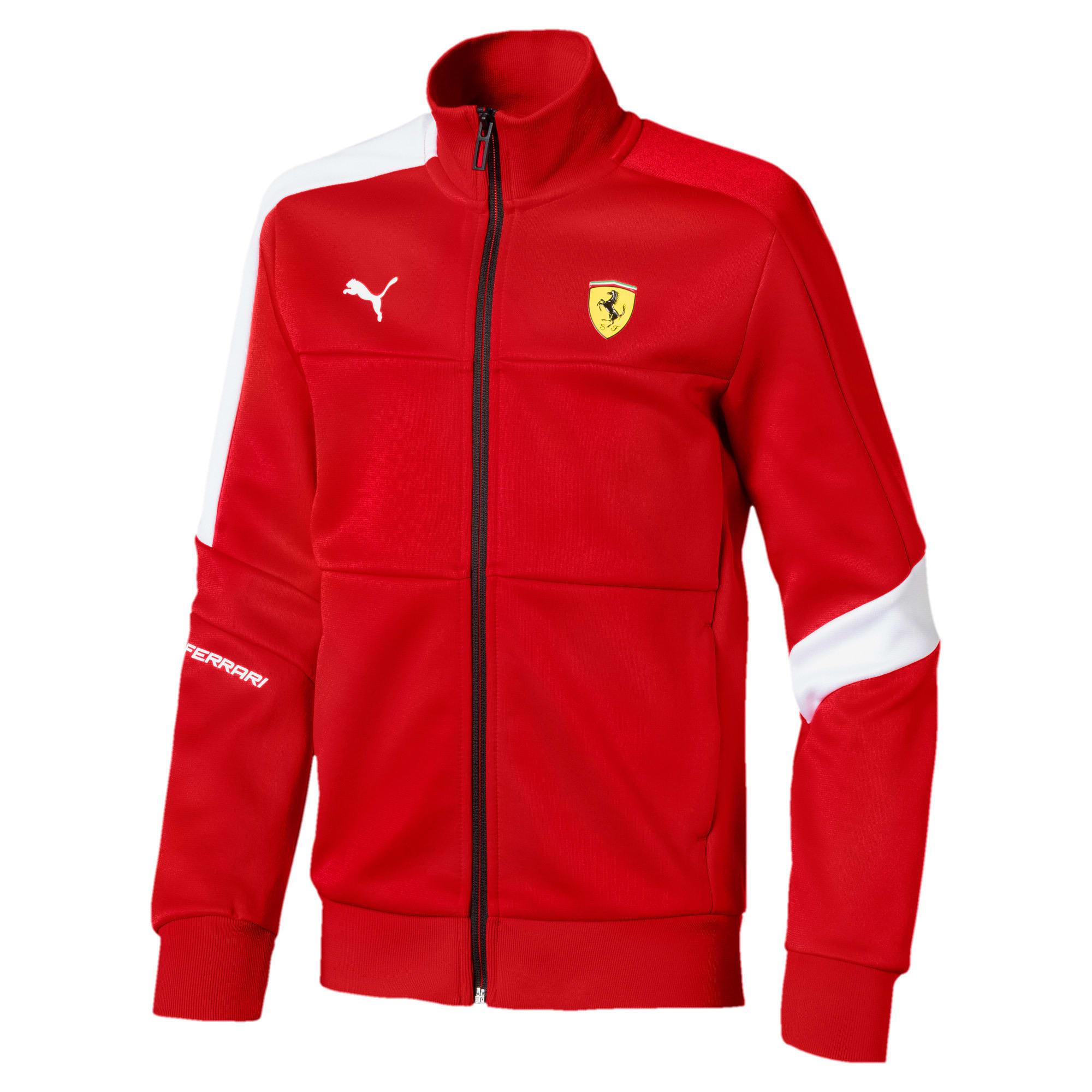 Thumbnail 1 of Blouson de survêtement Ferrari T7 pour enfant, Rosso Corsa, medium