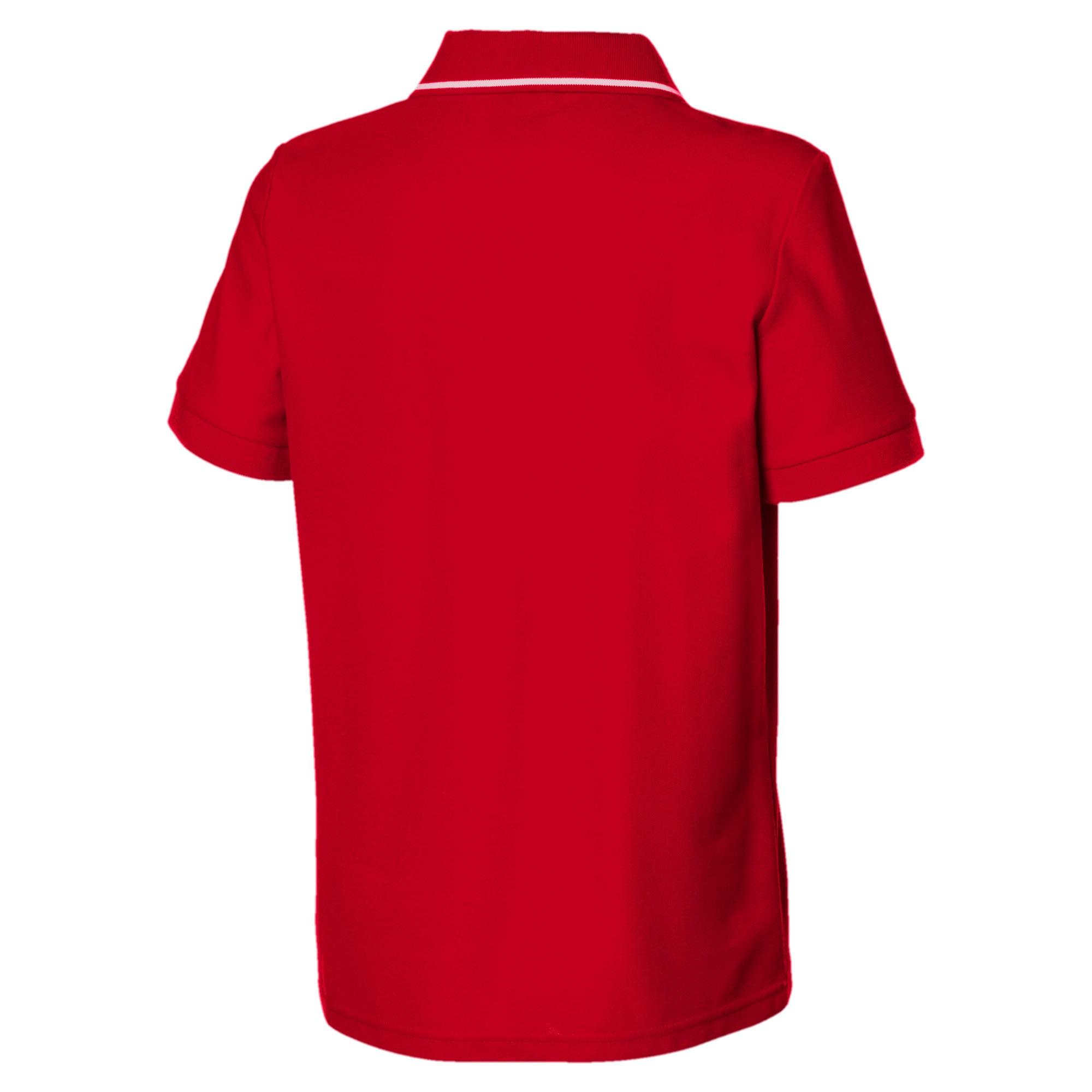 Thumbnail 2 of Ferrari Kids' Polo Shirt, Rosso Corsa, medium