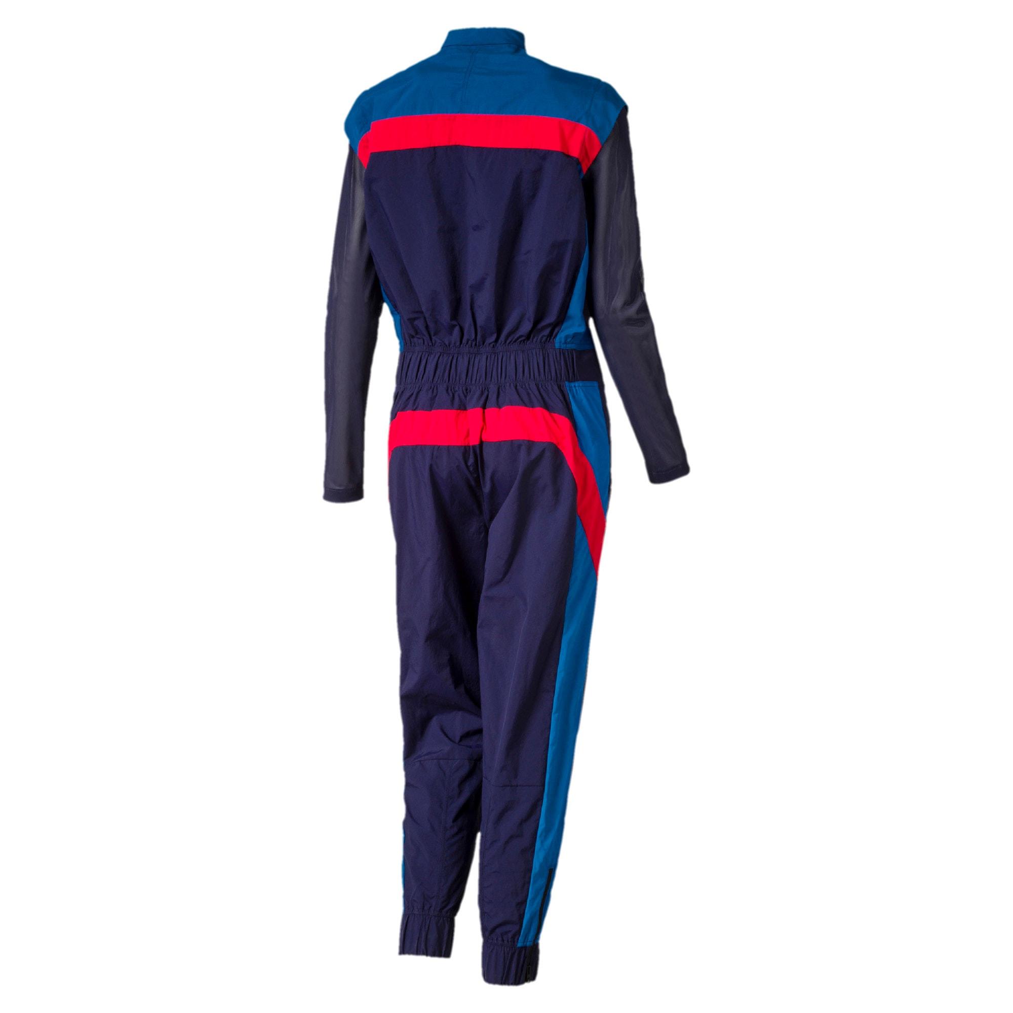 Thumbnail 2 of Scuderia Ferrari Street Women's Jumpsuit, Galaxy Blue, medium