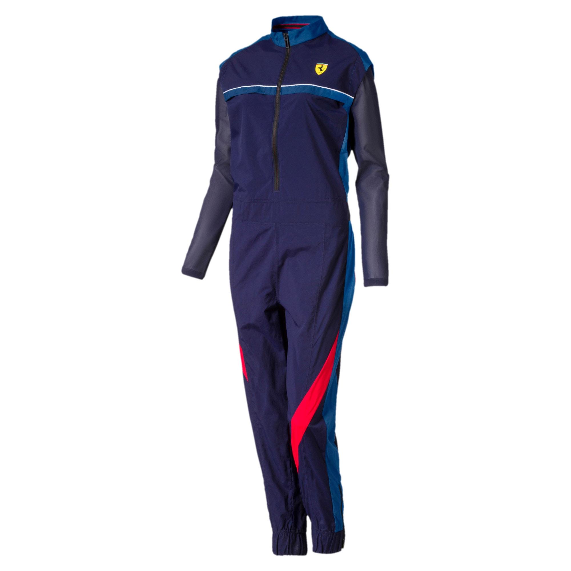 Thumbnail 1 of Scuderia Ferrari Street Women's Jumpsuit, Galaxy Blue, medium