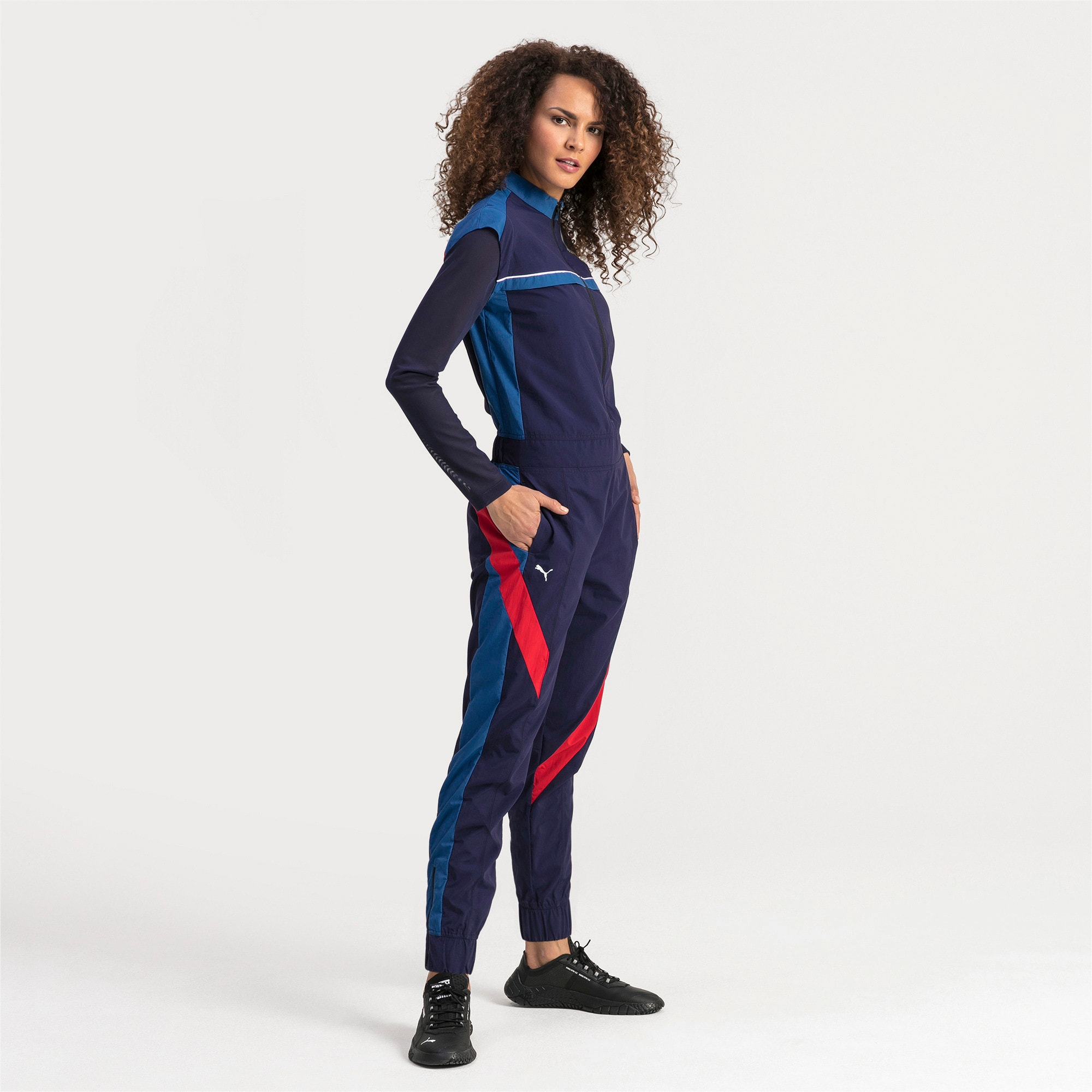 Thumbnail 3 of Ferrari Street Damen Jumpsuit, Galaxy Blue, medium