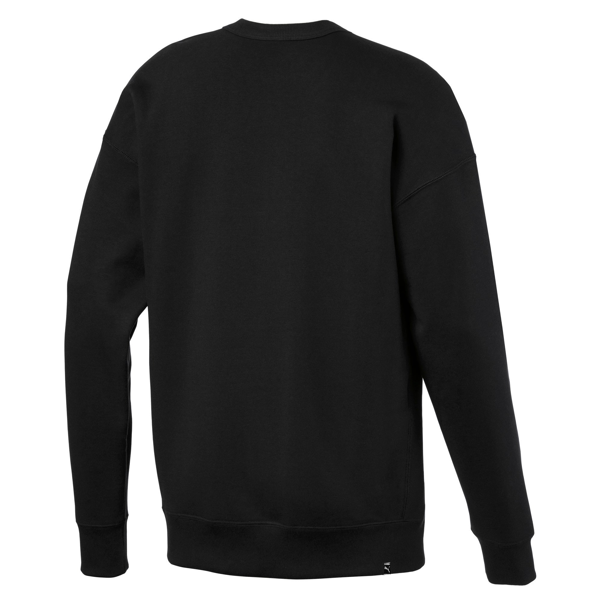 Thumbnail 5 of Downtown Men's Crewneck Sweatshirt, Puma Black, medium