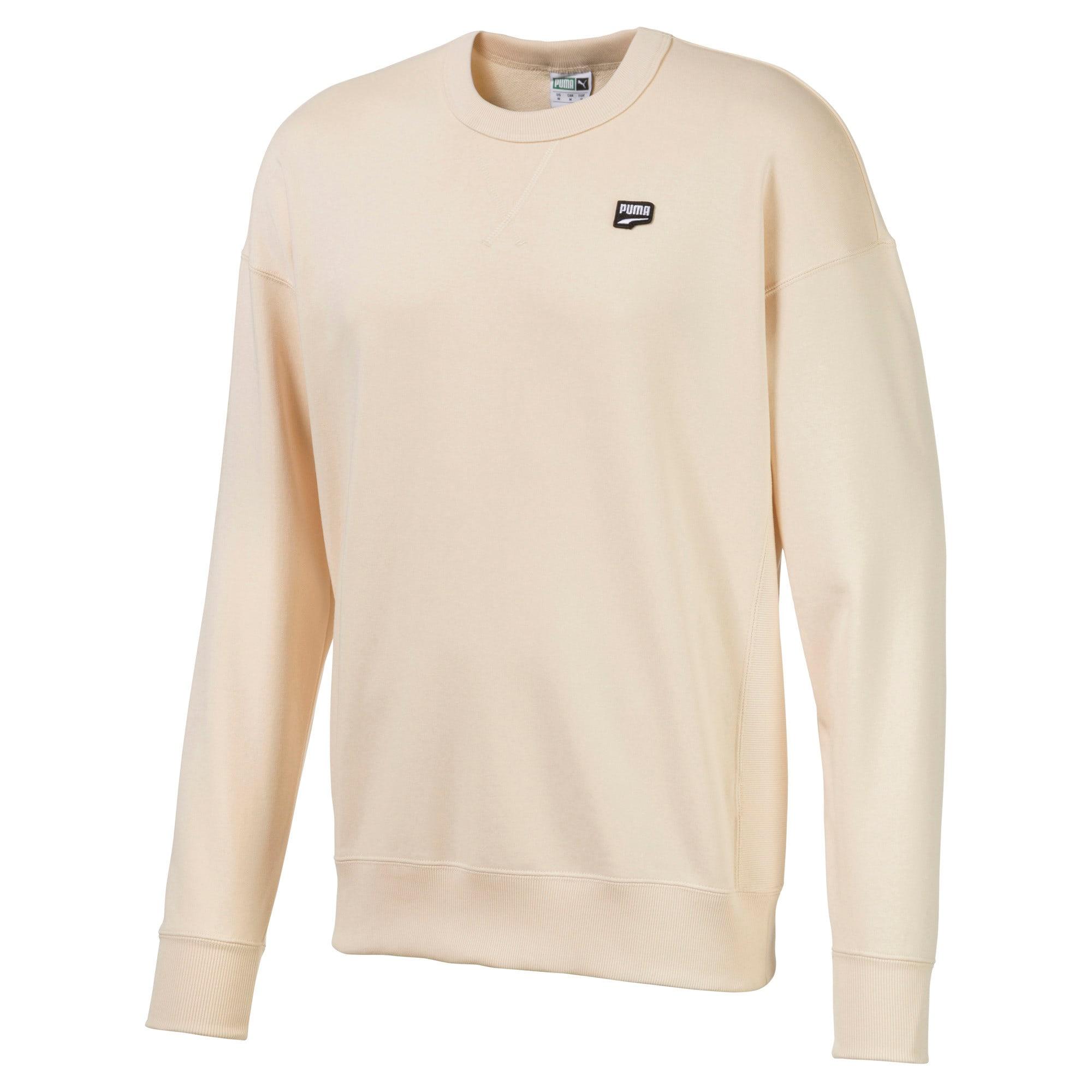 Thumbnail 1 of Downtown Men's Crewneck Sweatshirt, White Smoke, medium