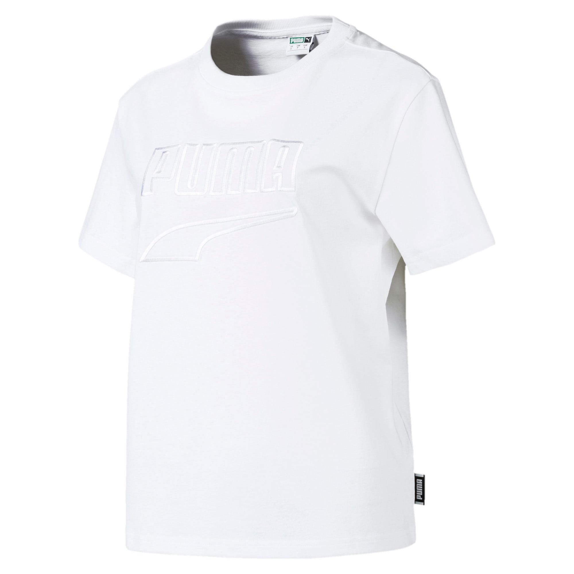 Miniatura 1 de CamisetaDowntown para mujer, Puma White, mediano