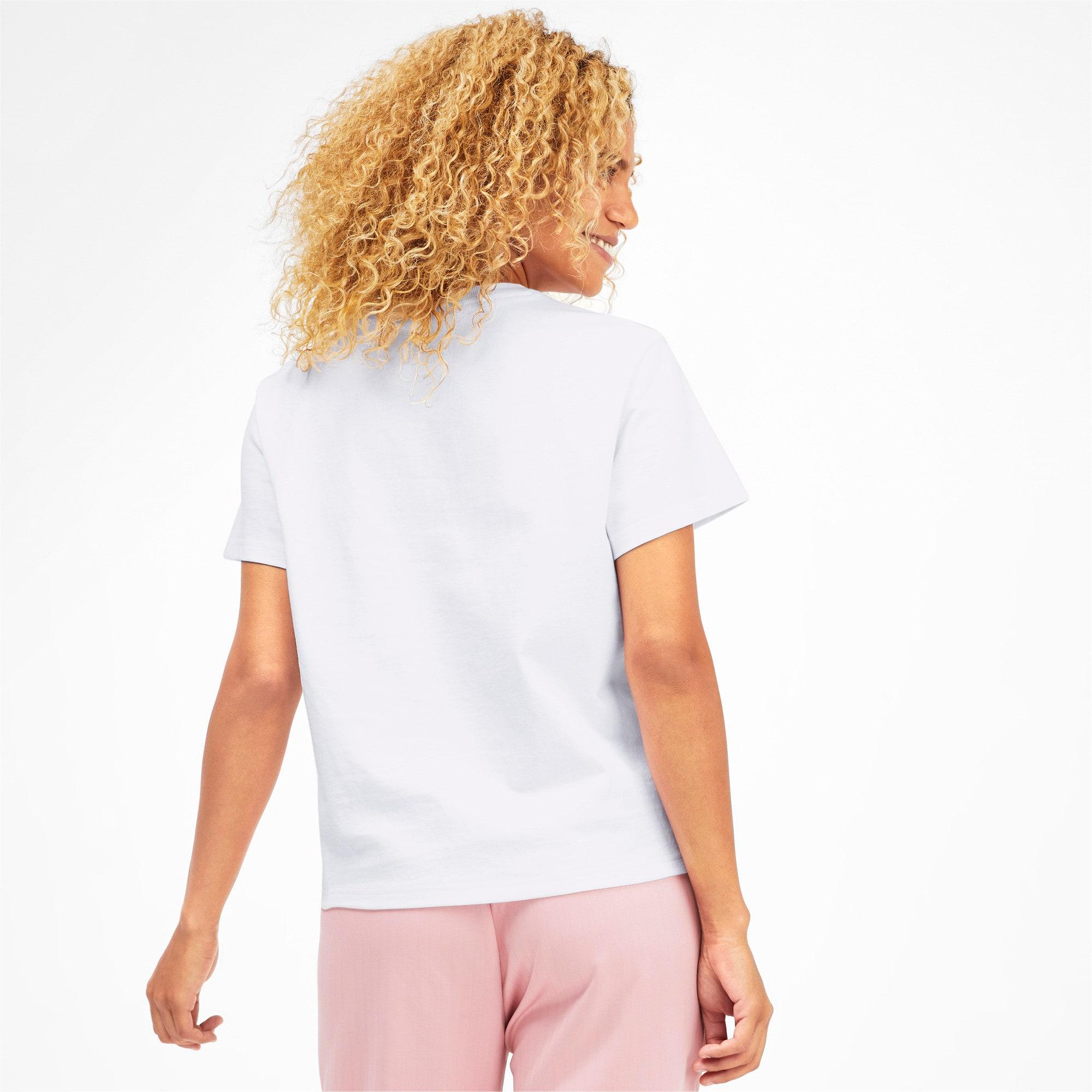 Miniatura 3 de CamisetaDowntown para mujer, Puma White, mediano