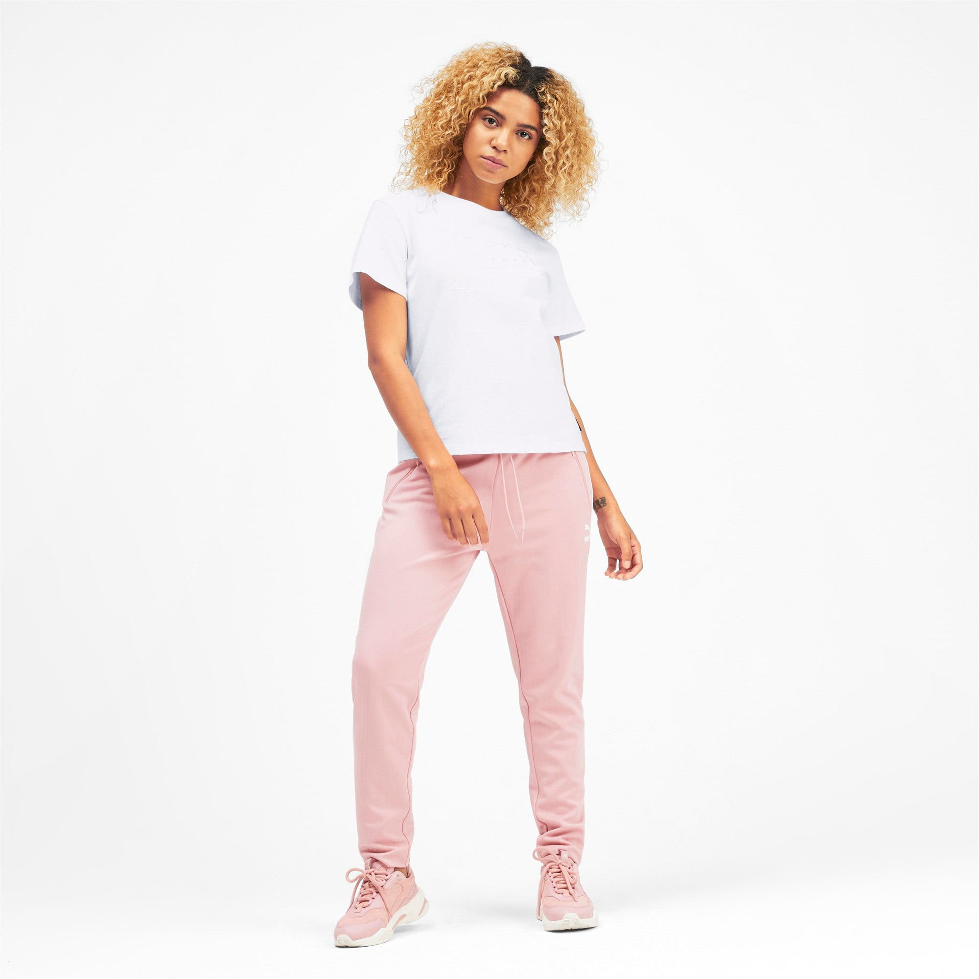 Miniatura 4 de CamisetaDowntown para mujer, Puma White, mediano