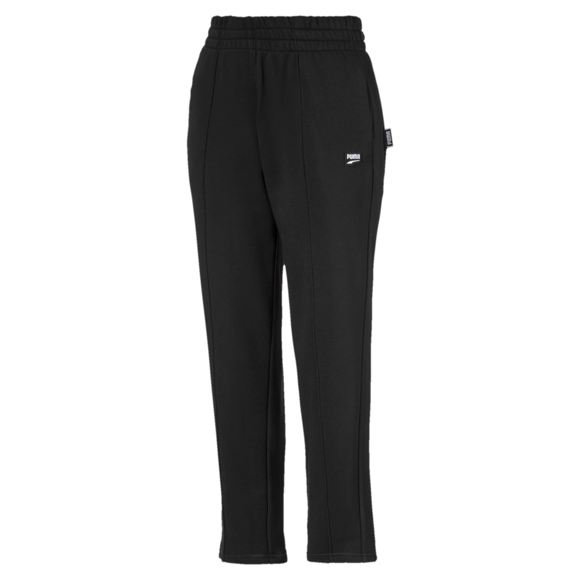 Thumbnail 4 of Downtown Knitted Women's Pants, Puma Black, medium