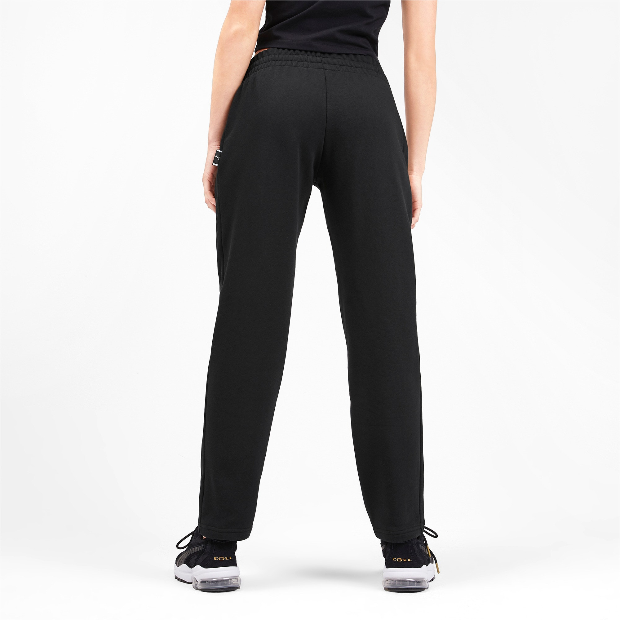 Thumbnail 2 of Downtown Knitted Women's Pants, Puma Black, medium