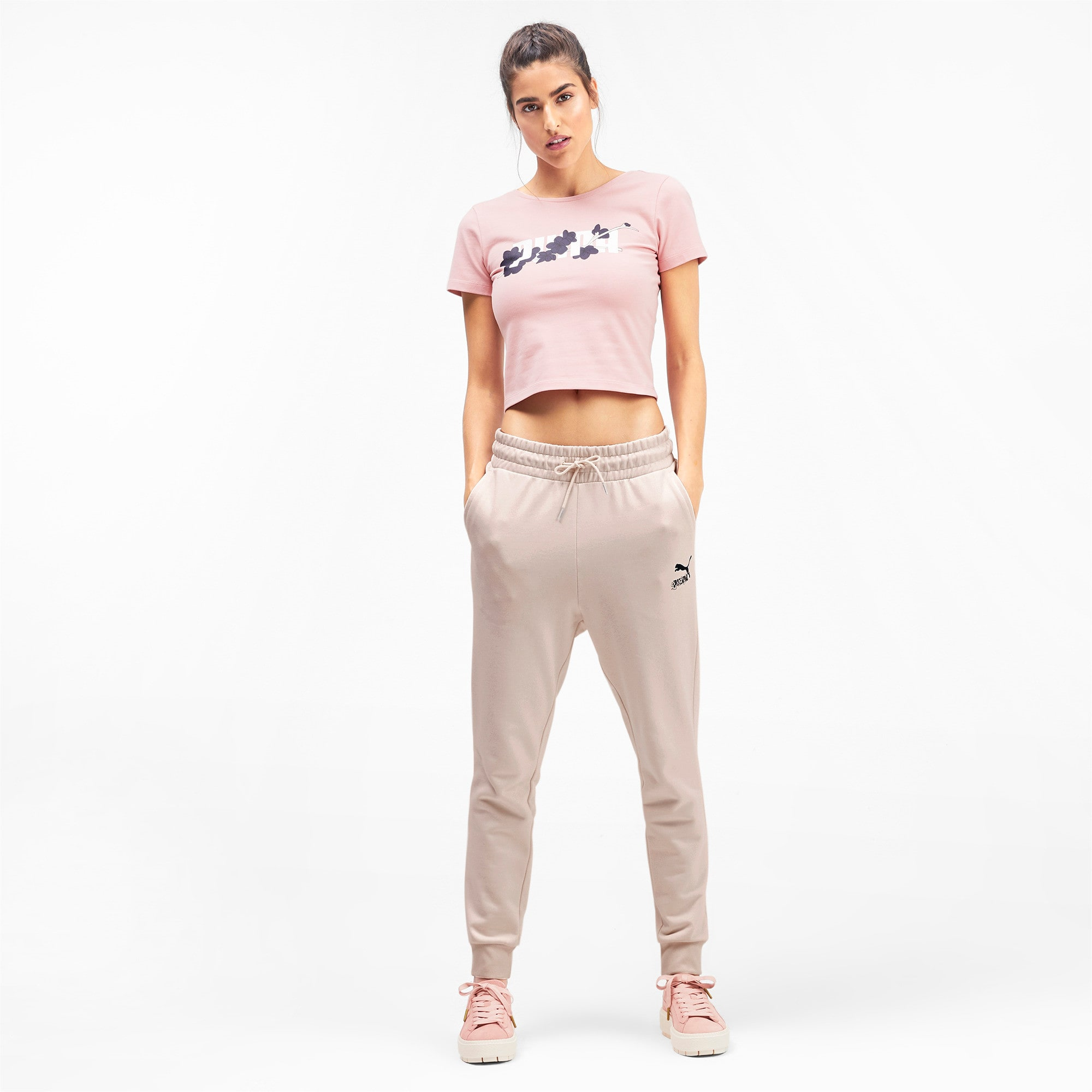 Miniatura 4 de Pantalones deportivosSakurapara mujer, Pastel Parchment, mediano