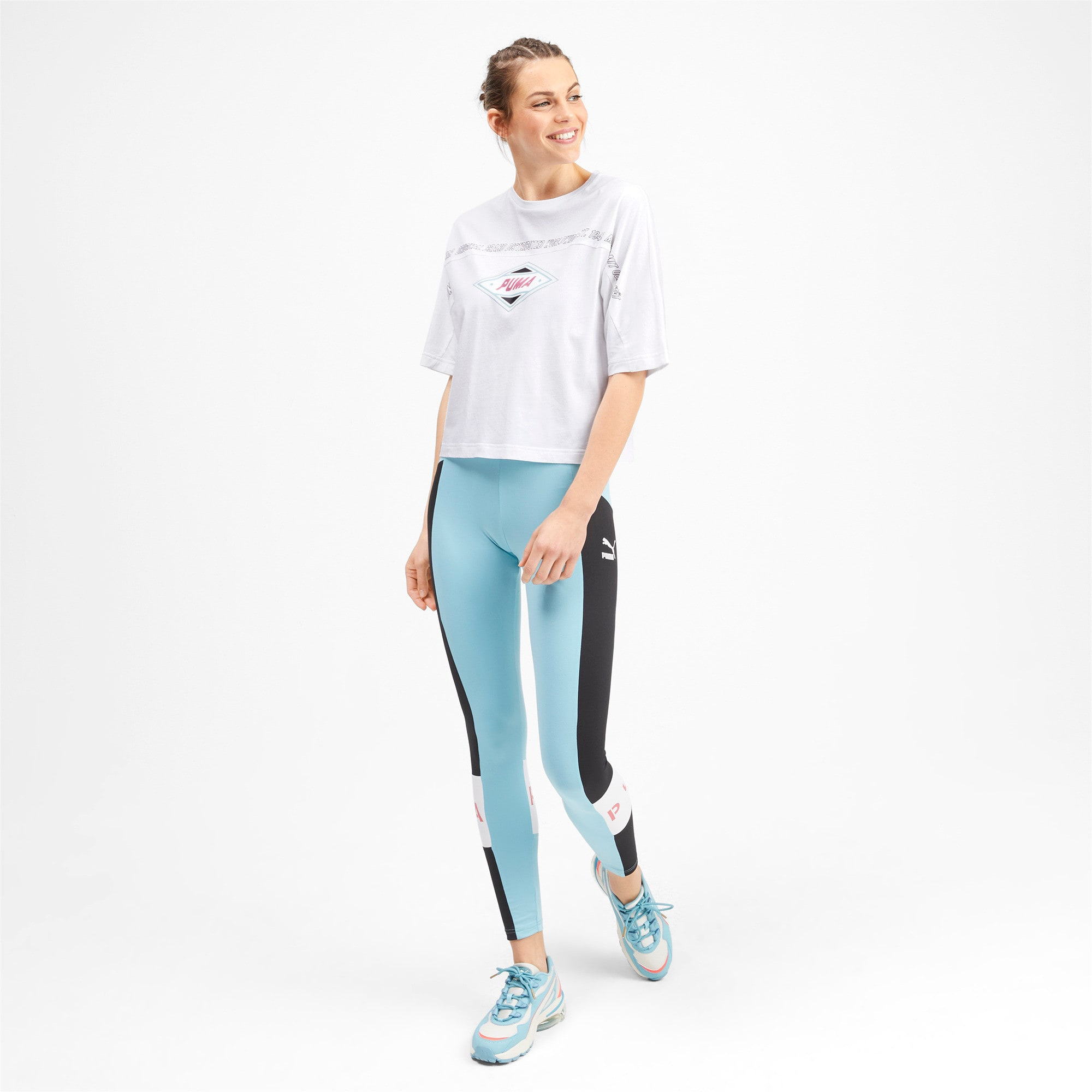 Thumbnail 4 of luXTG Women's Tee, Puma White, medium