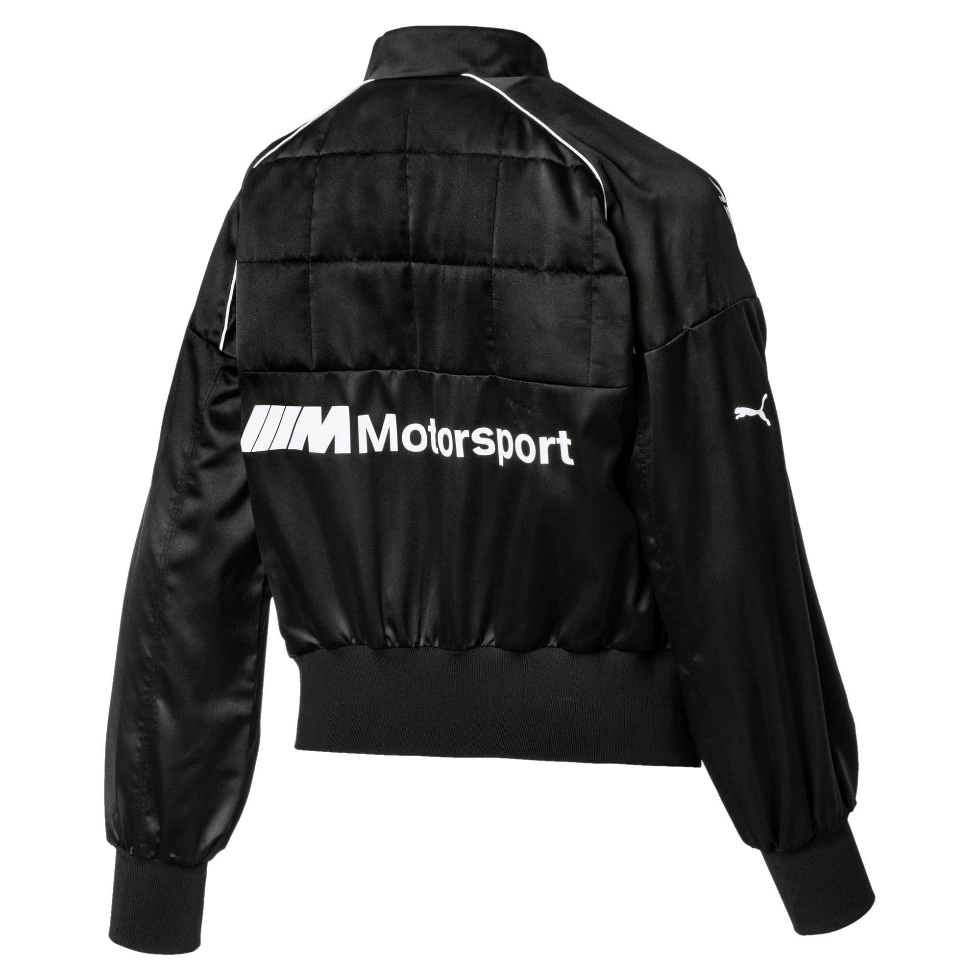 Thumbnail 2 of BMW M Motorsport Street Women's Jacket, Puma Black, medium
