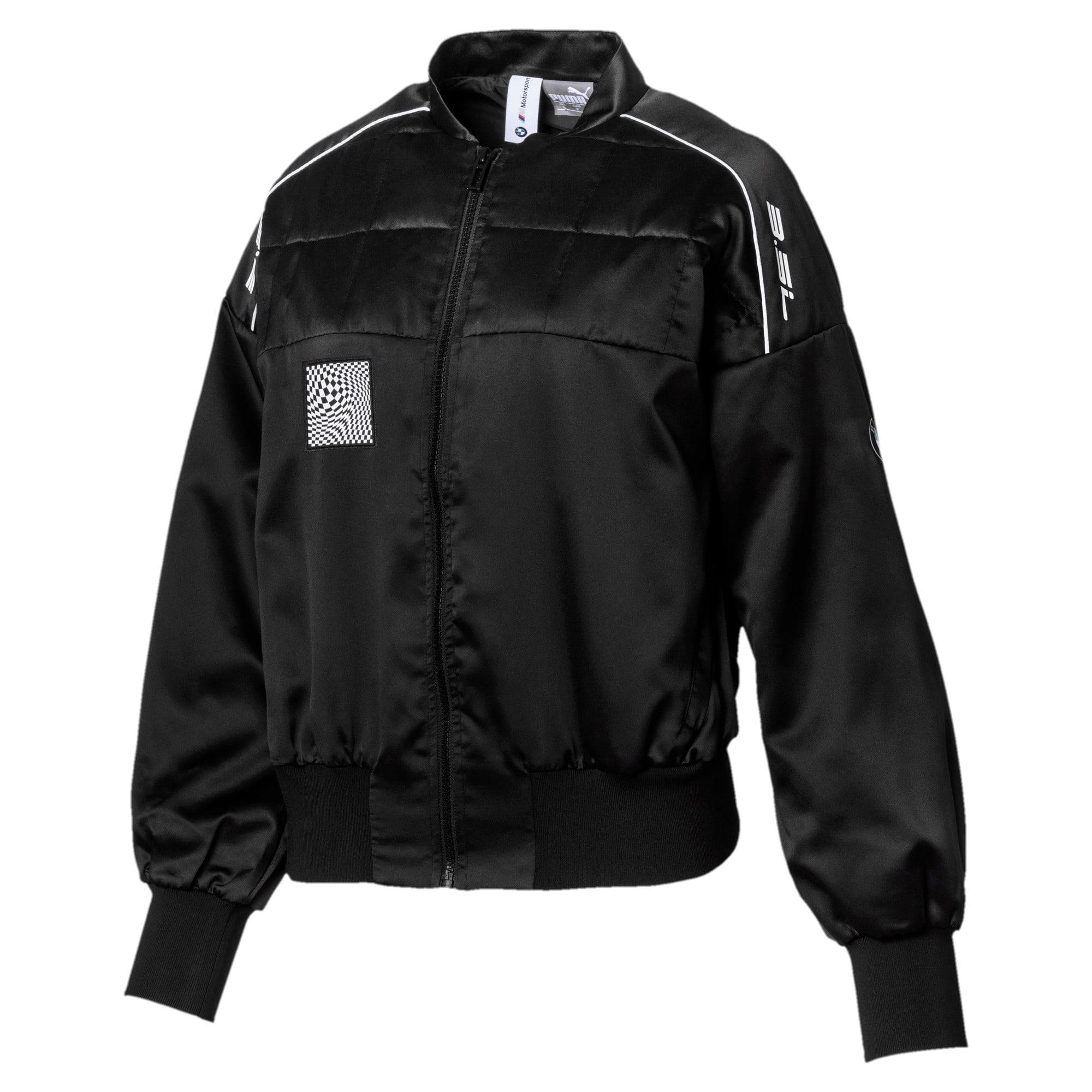 Thumbnail 1 of BMW M Motorsport Street Women's Jacket, Puma Black, medium