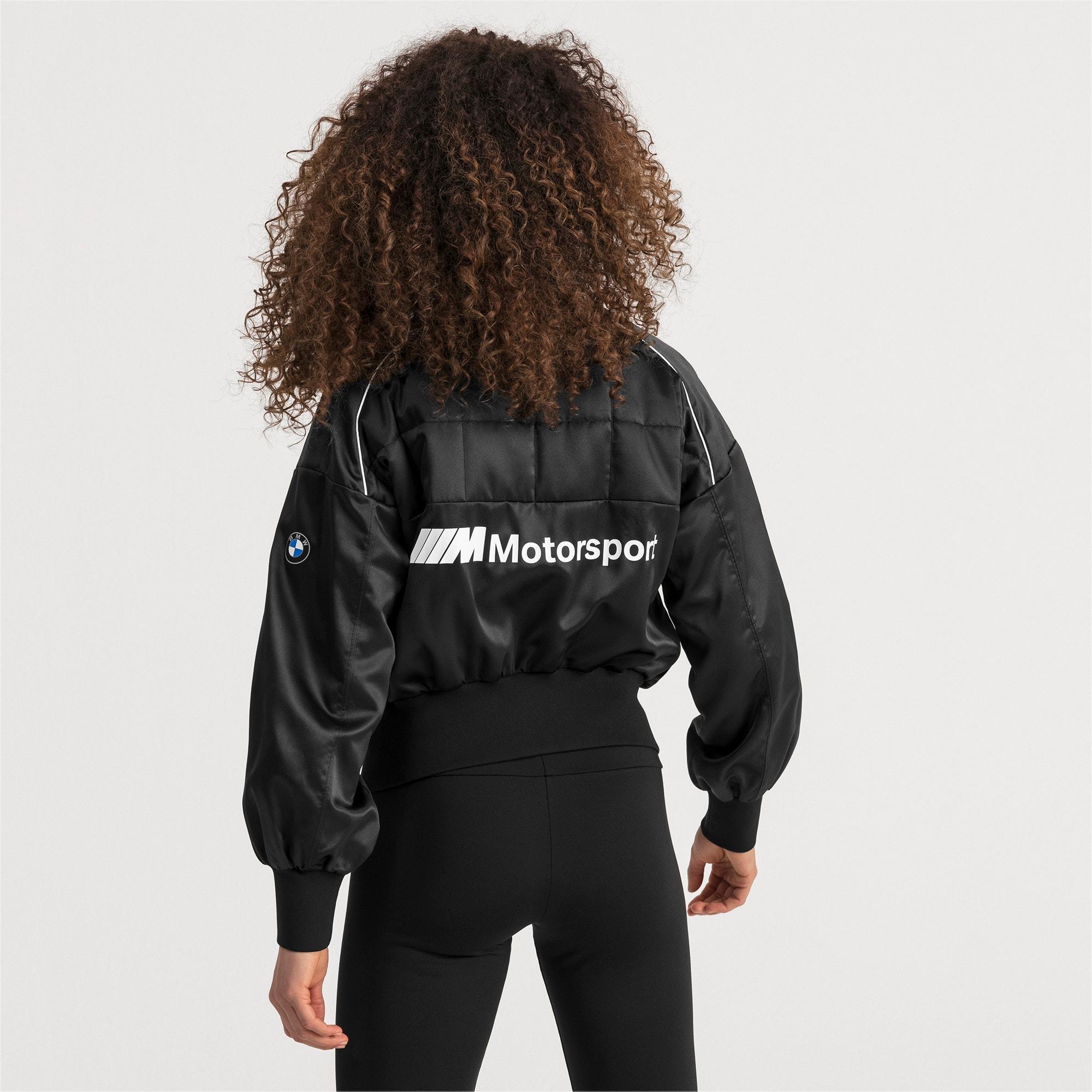 Thumbnail 2 of BMW M Motorsport Women's Street Jacket, Puma Black, medium