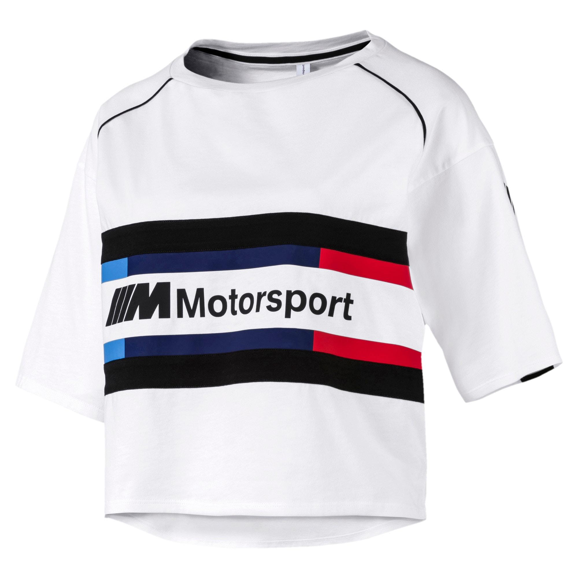 Thumbnail 4 of BMW M Motorsports Women's Street Tee, Puma White, medium