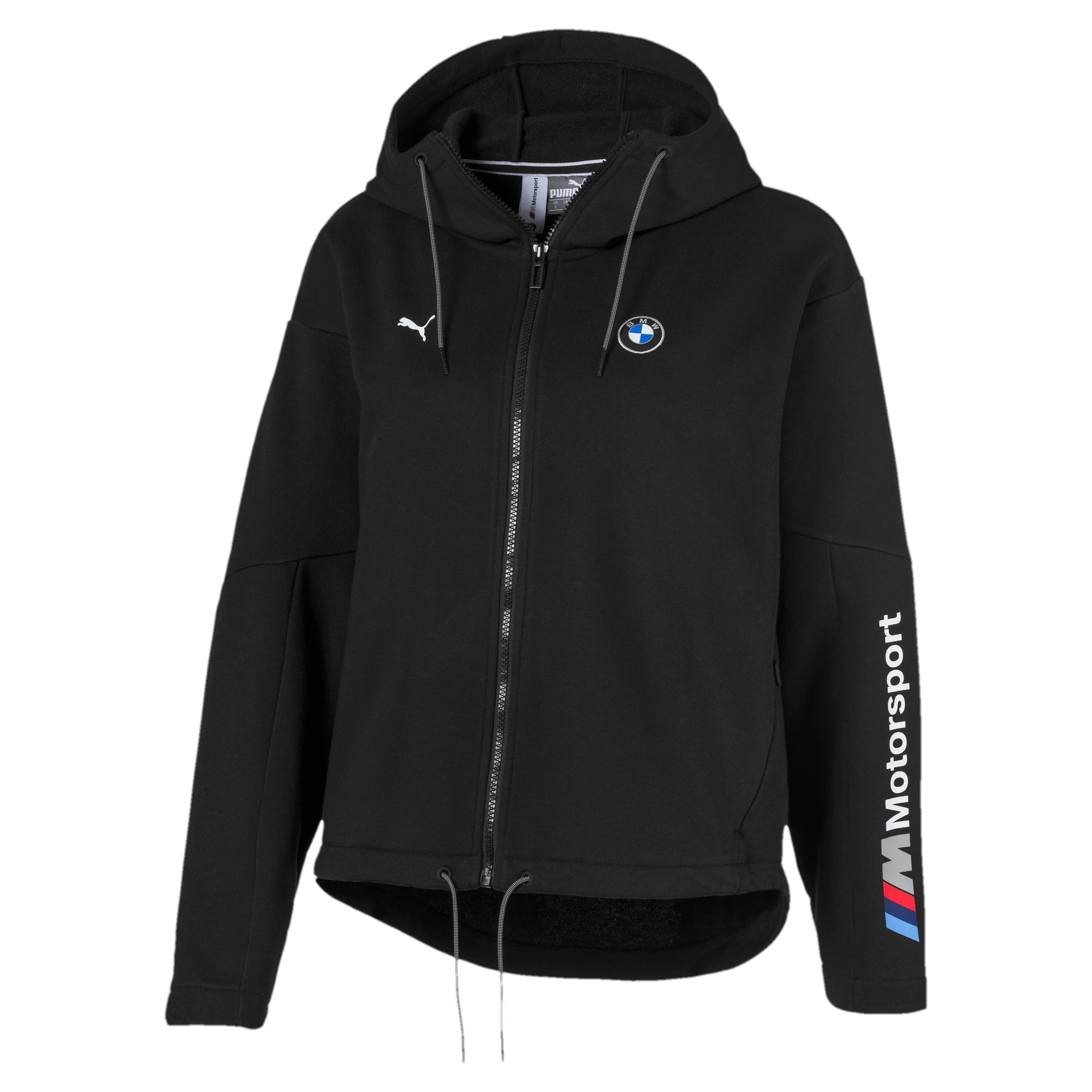 Thumbnail 1 of BMW M Motorsport Women's Sweat Jacket, Puma Black, medium