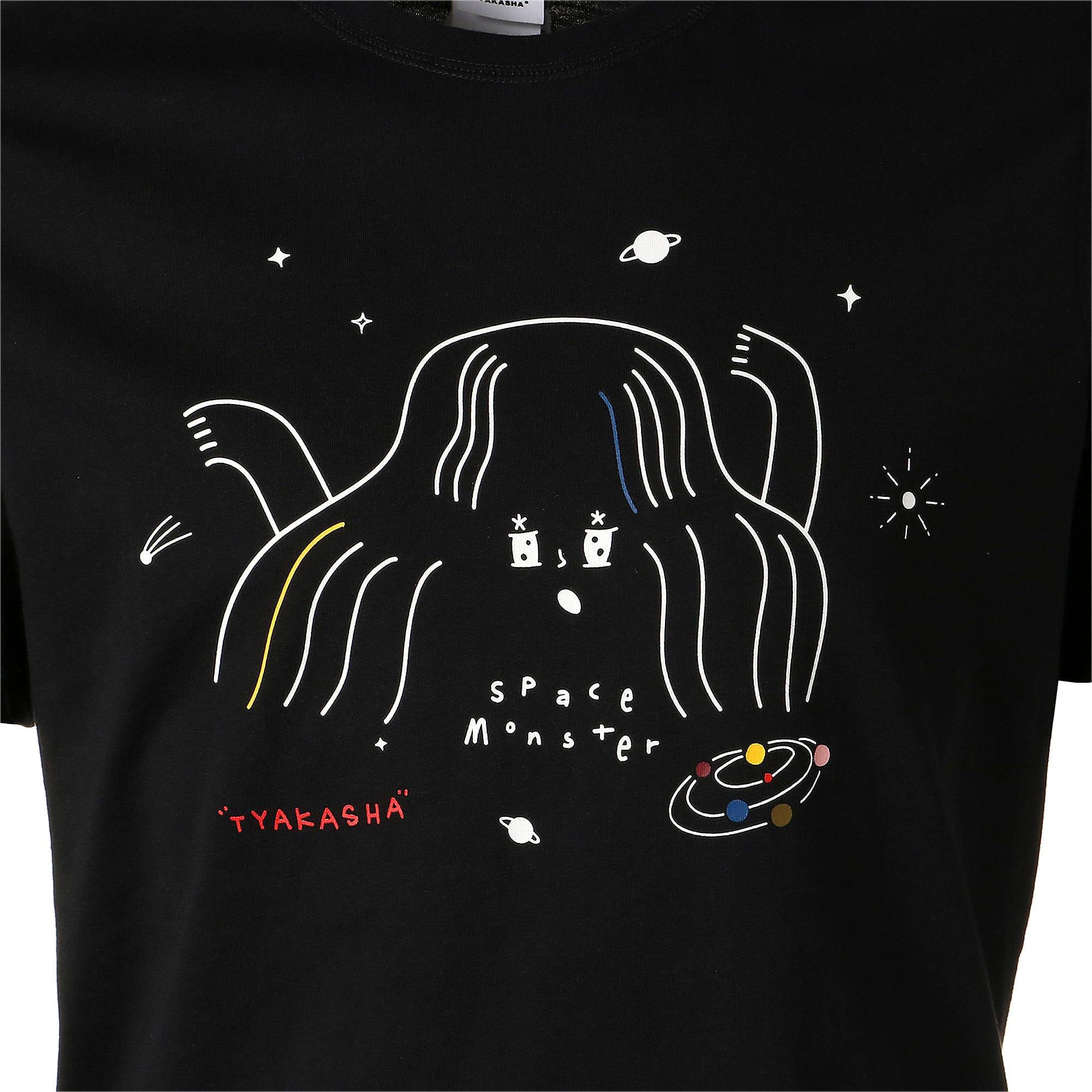 Thumbnail 7 of PUMA x TYAKASHA Tシャツ, Cotton Black, medium-JPN