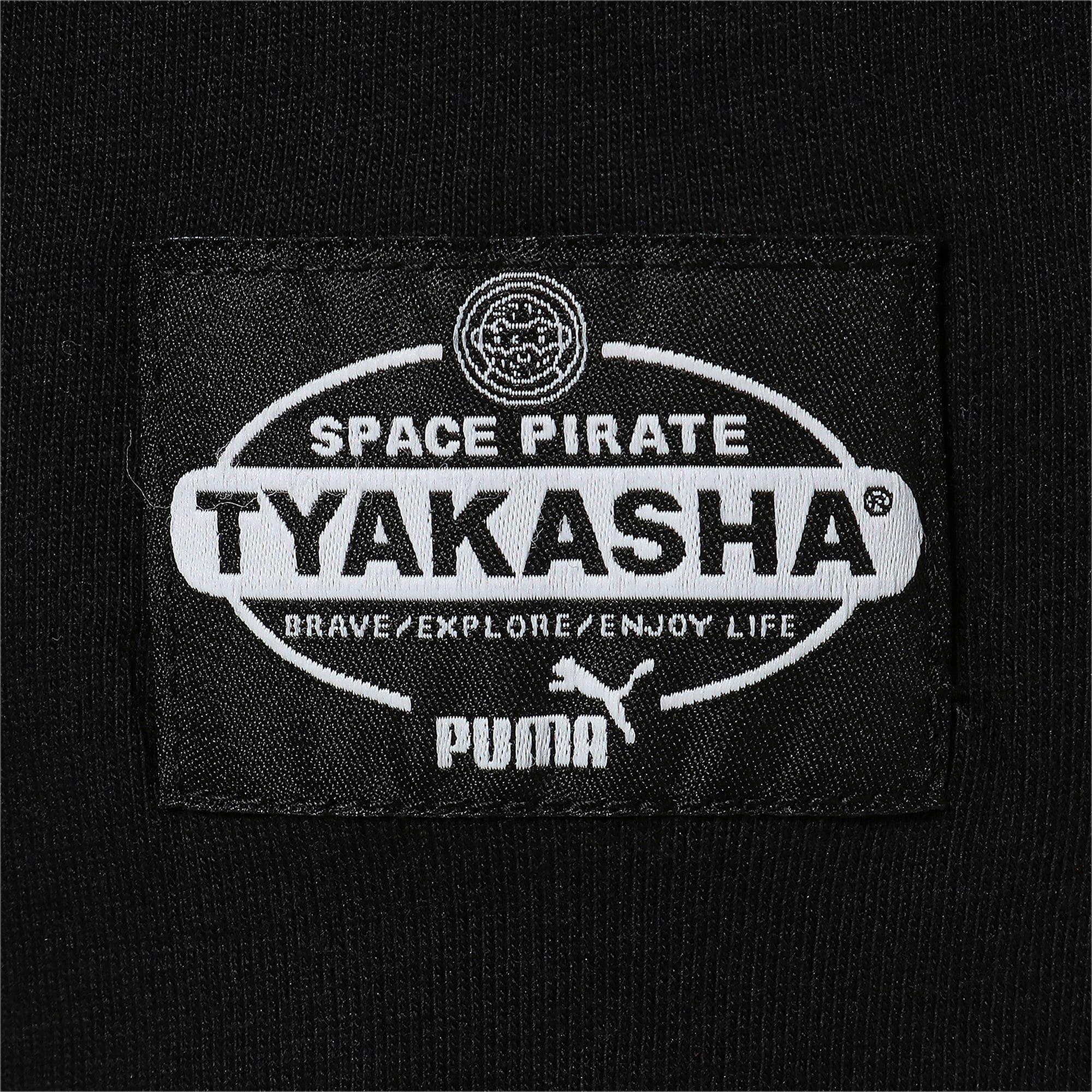 Thumbnail 9 of PUMA x TYAKASHA Tシャツ, Cotton Black, medium-JPN