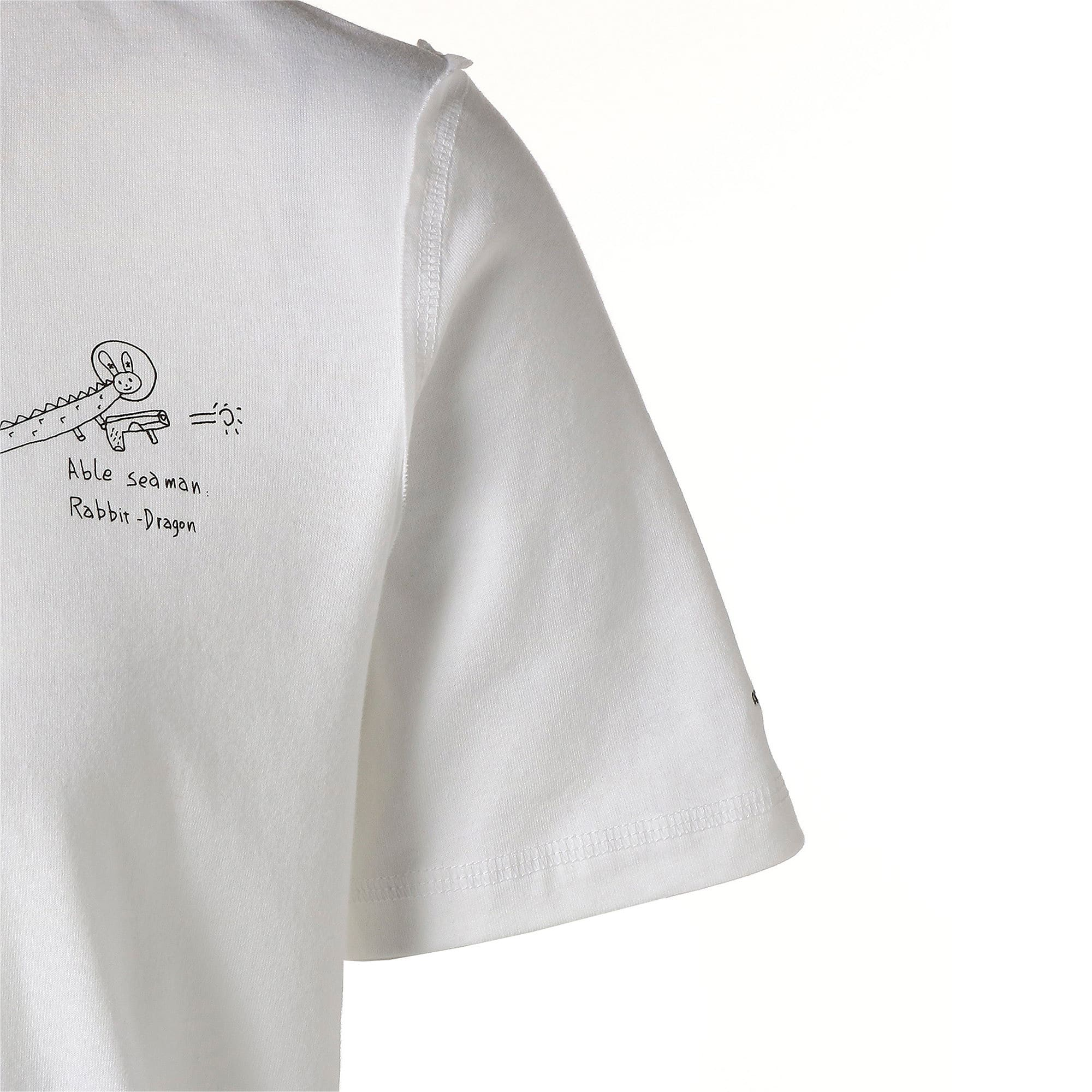 Thumbnail 5 of PUMA x TYAKASHA Tシャツ, Puma White, medium-JPN
