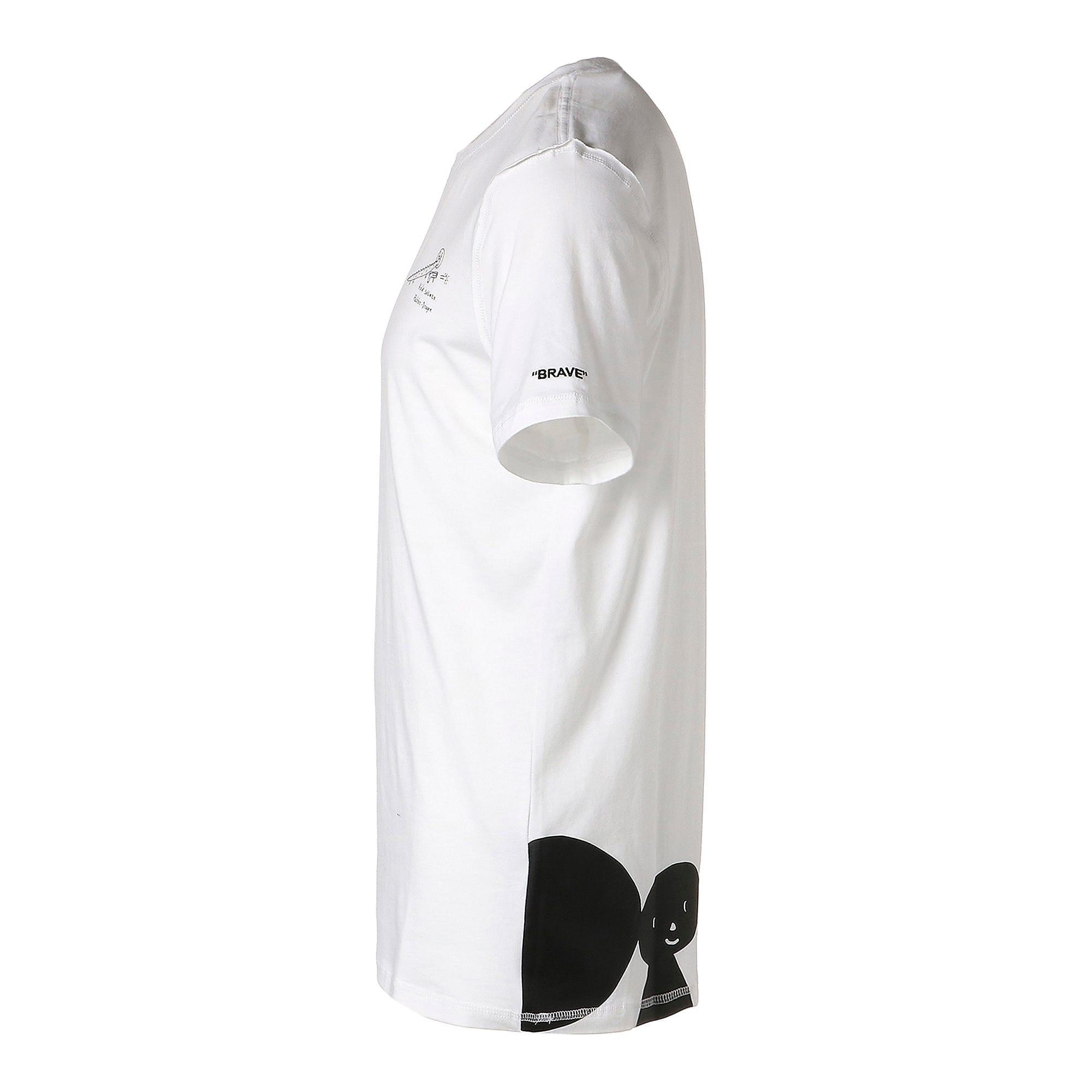 Thumbnail 2 of PUMA x TYAKASHA Tシャツ, Puma White, medium-JPN