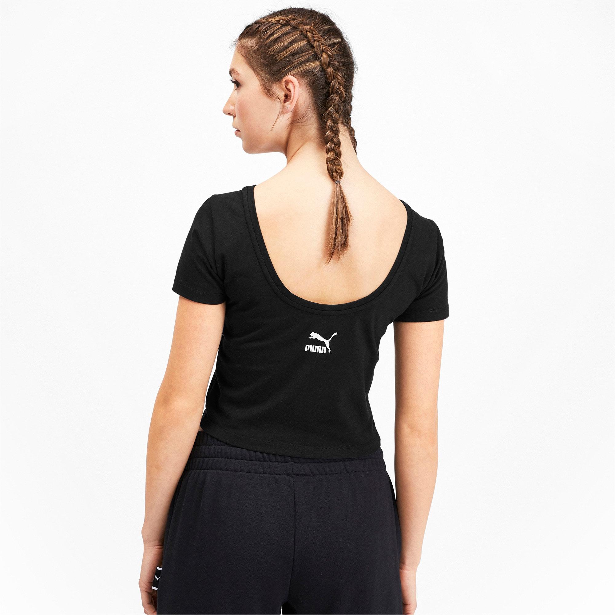 Miniatura 2 de Camiseta Claw para mujer, Puma Black, mediano