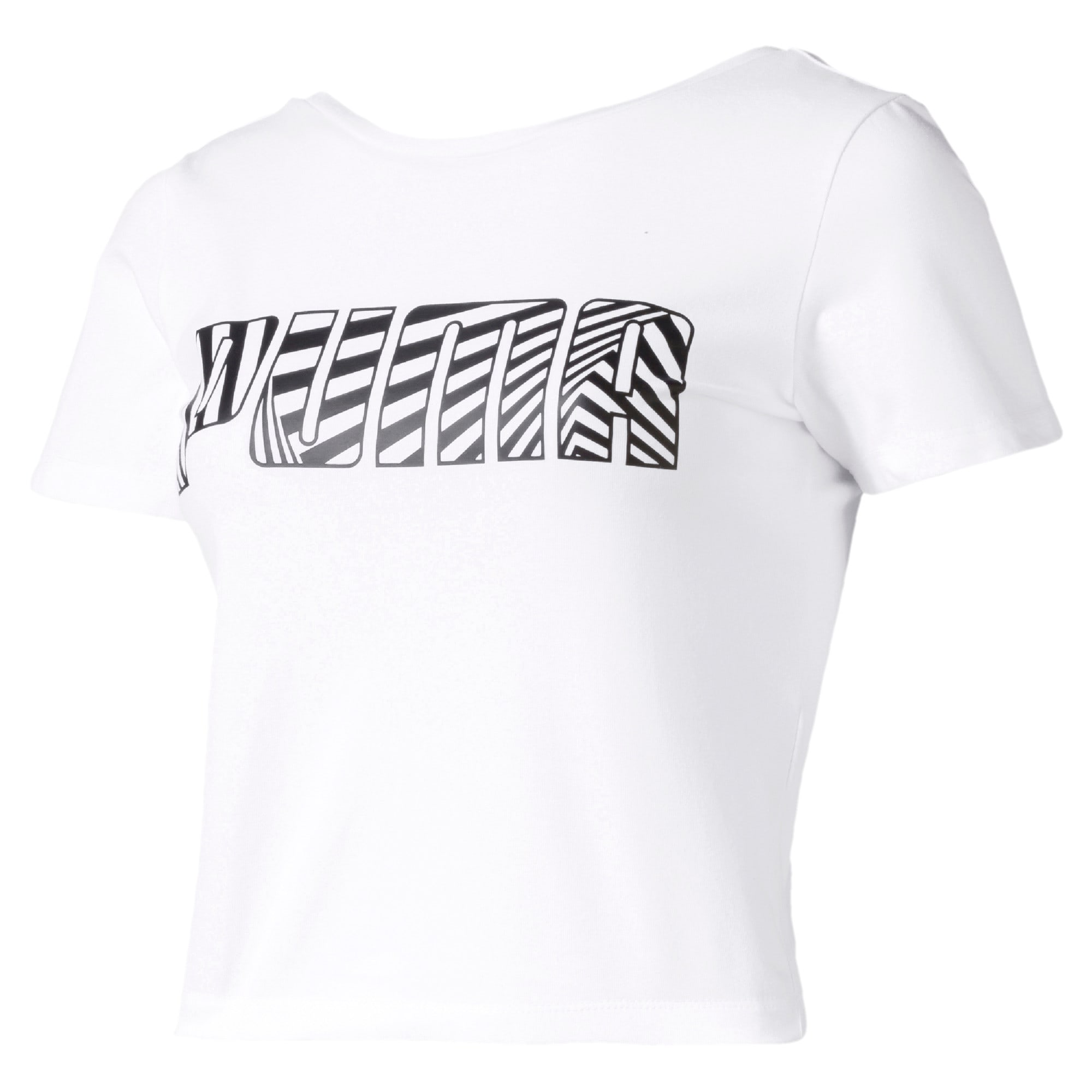 Miniatura 1 de Camiseta Claw para mujer, Puma White, mediano