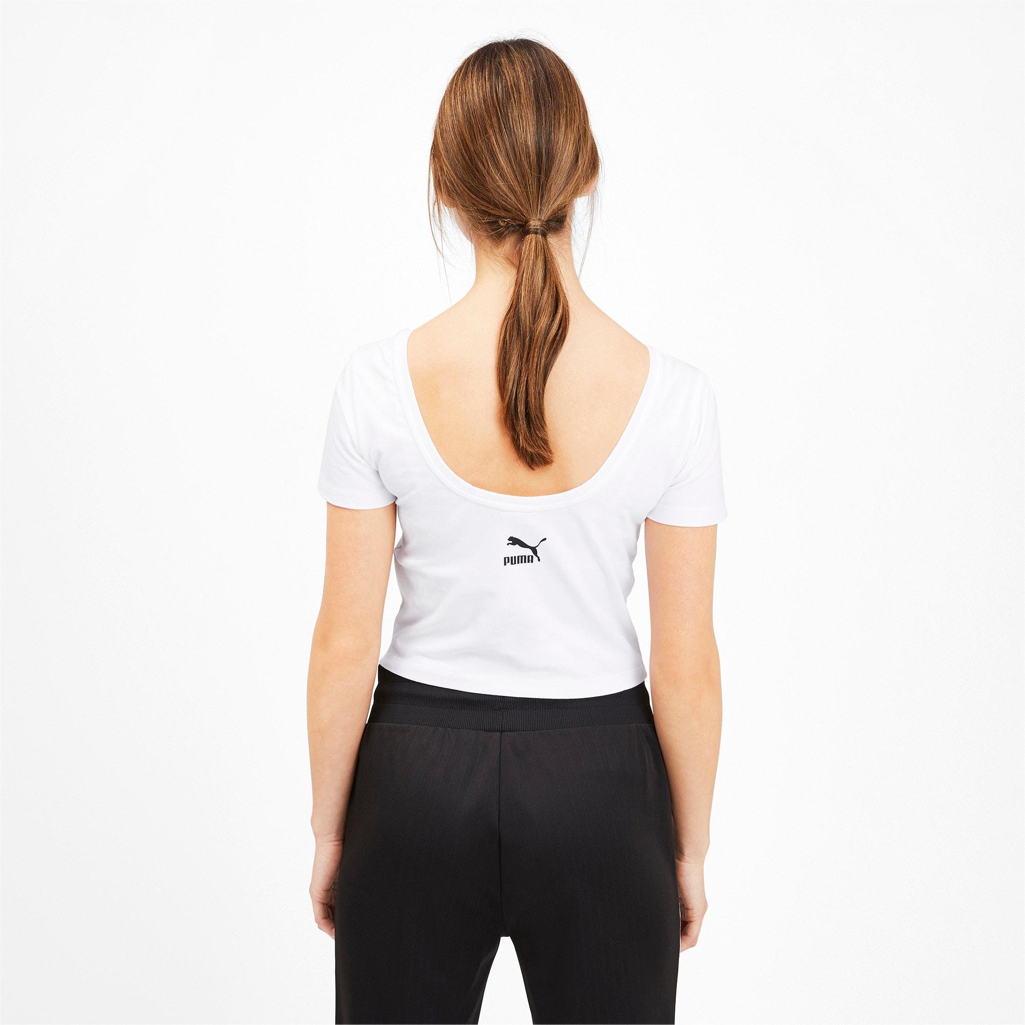 Miniatura 3 de Camiseta Claw para mujer, Puma White, mediano