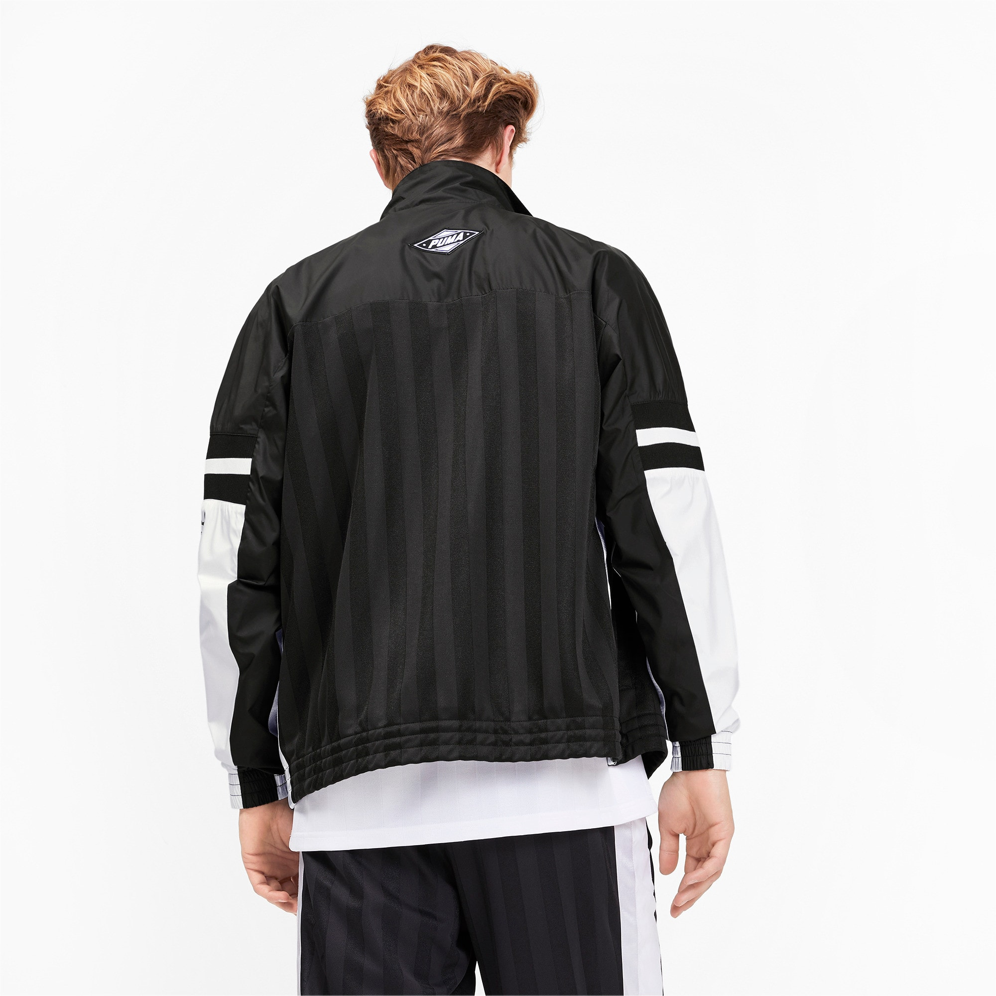 Thumbnail 3 of luXTG Men's Woven Jacket, Puma Black, medium
