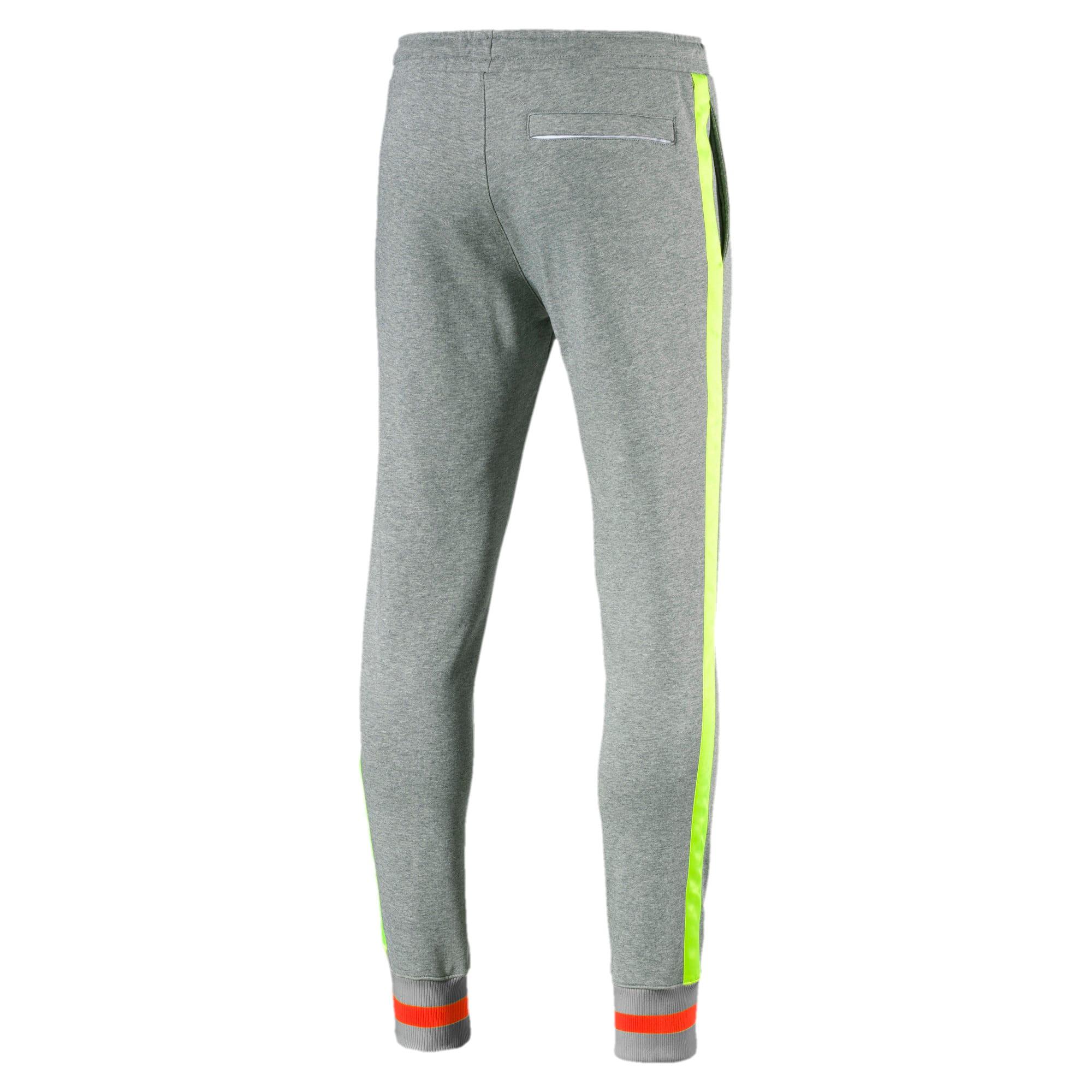 Thumbnail 5 of luXTG Men's Cuffed Sweatpants, Medium Gray Heather, medium