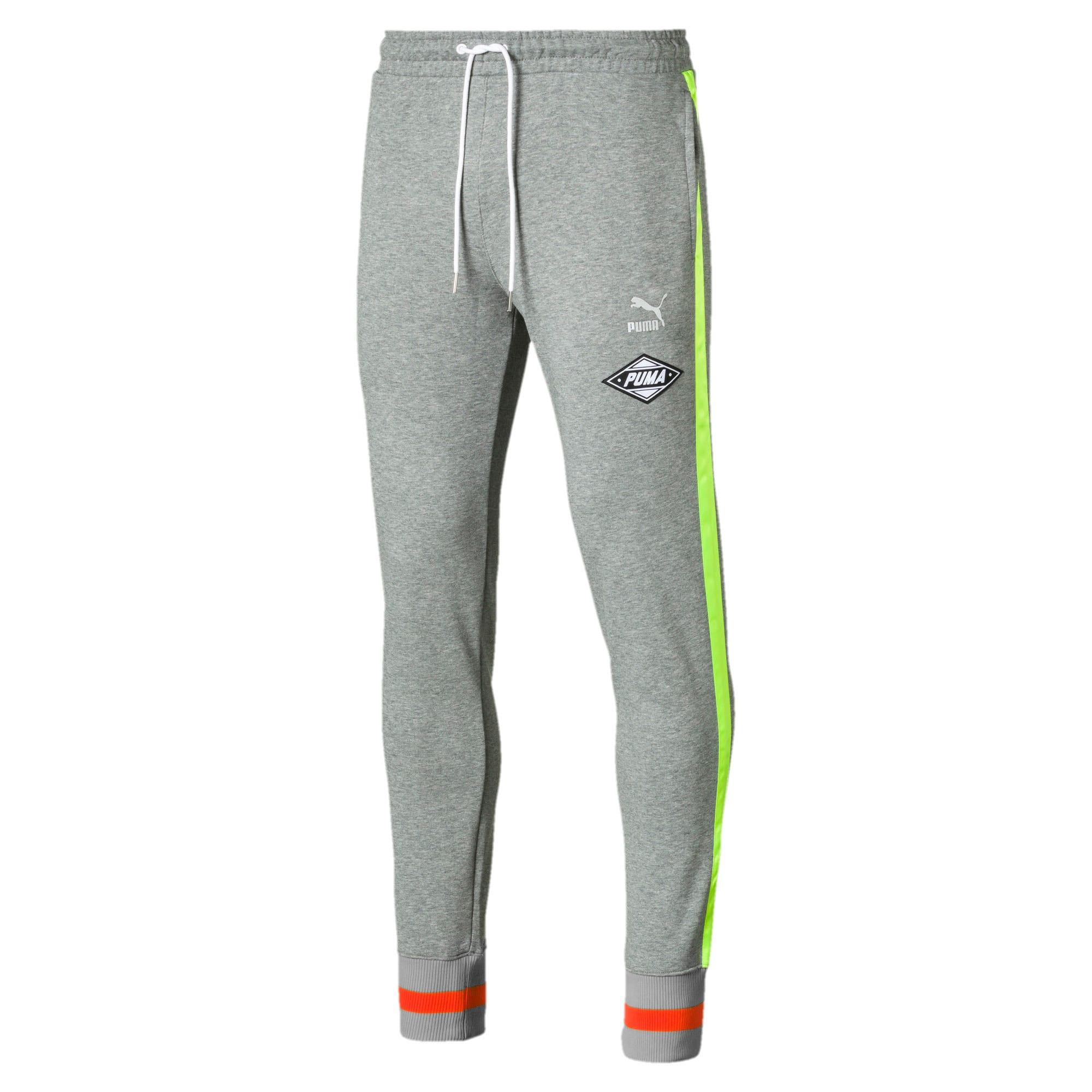 Thumbnail 1 of luXTG Men's Cuffed Sweatpants, Medium Gray Heather, medium