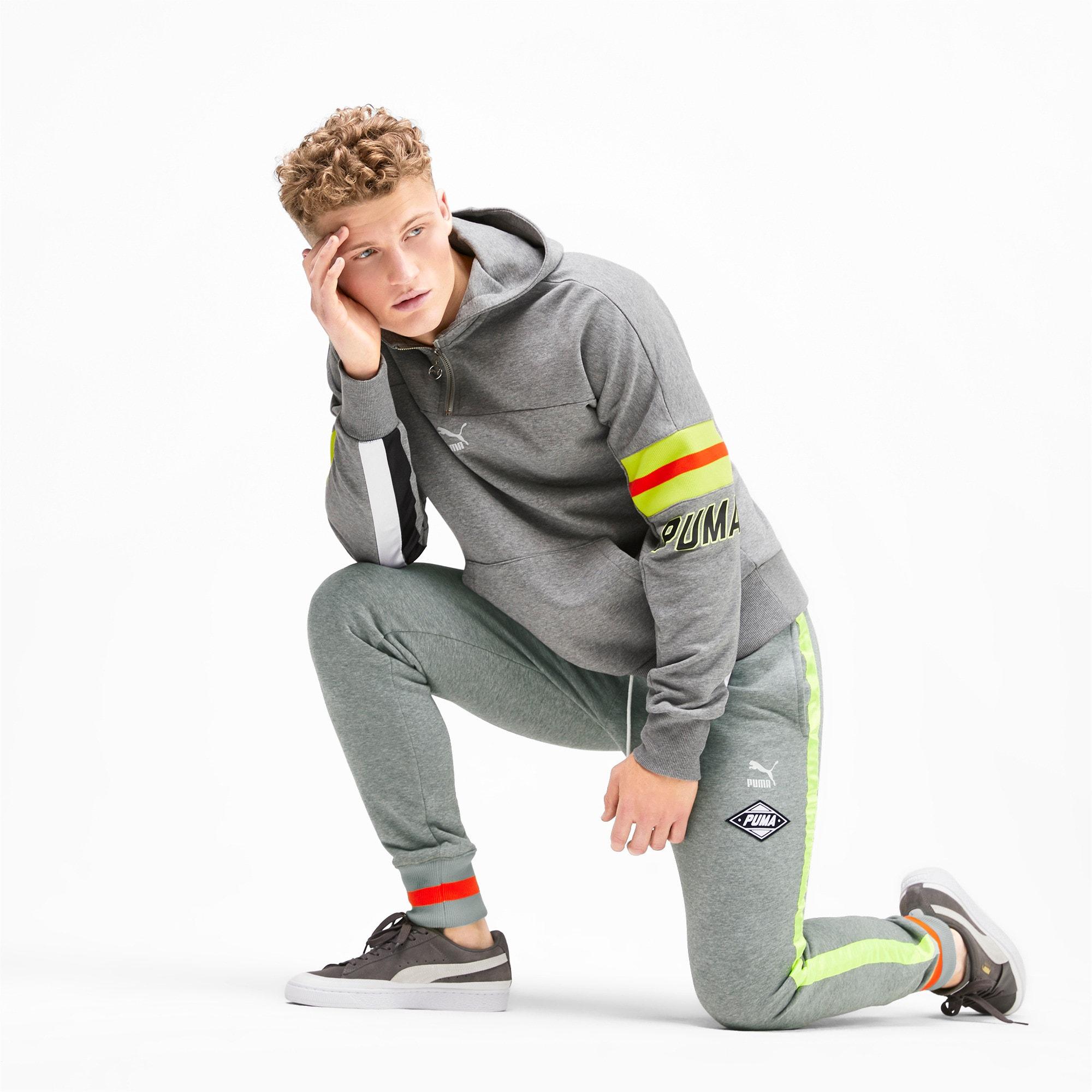 Thumbnail 4 of luXTG Men's Cuffed Sweatpants, Medium Gray Heather, medium