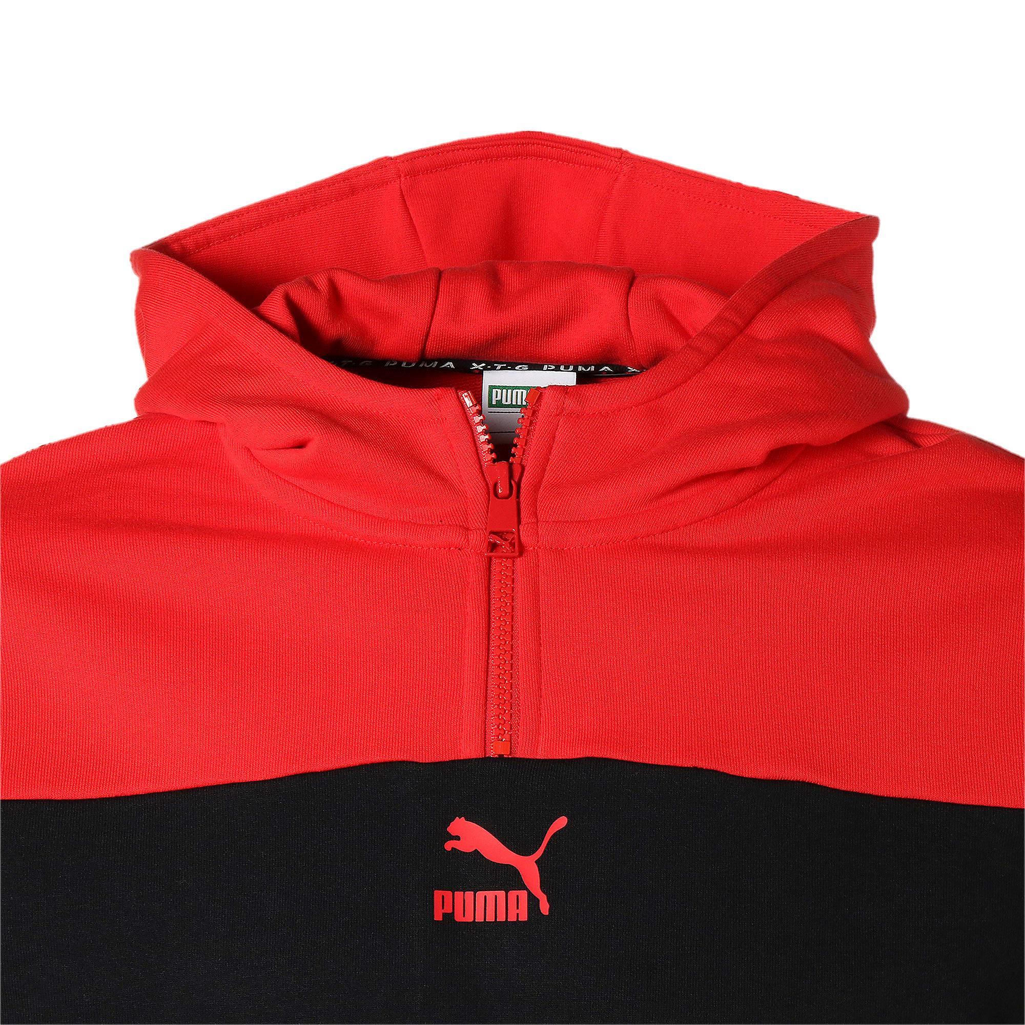 Thumbnail 10 of PUMA XTG フーディー, Puma Black-Red combo, medium-JPN