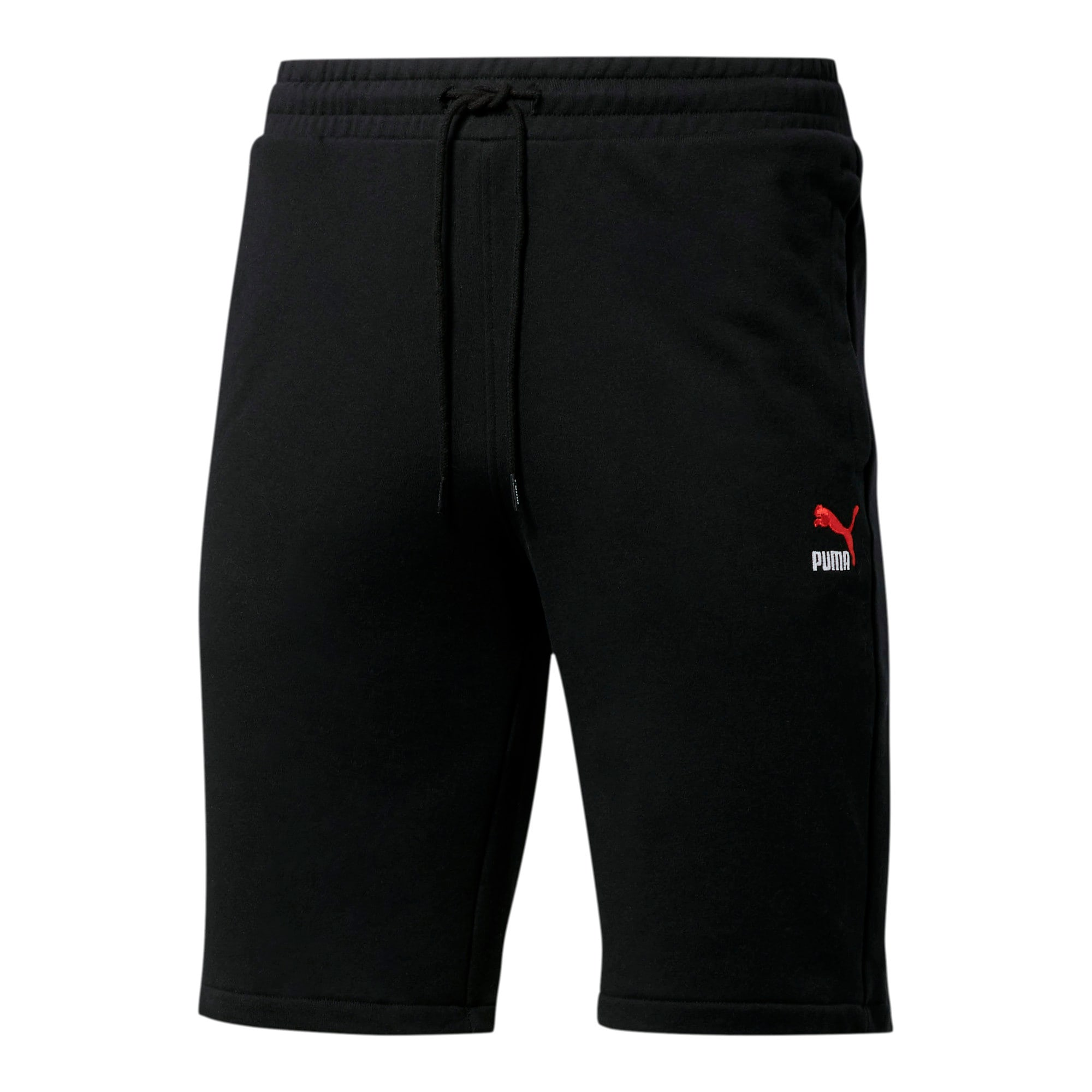 Thumbnail 1 of Classics Men's Emblem Shorts, Cotton Black, medium