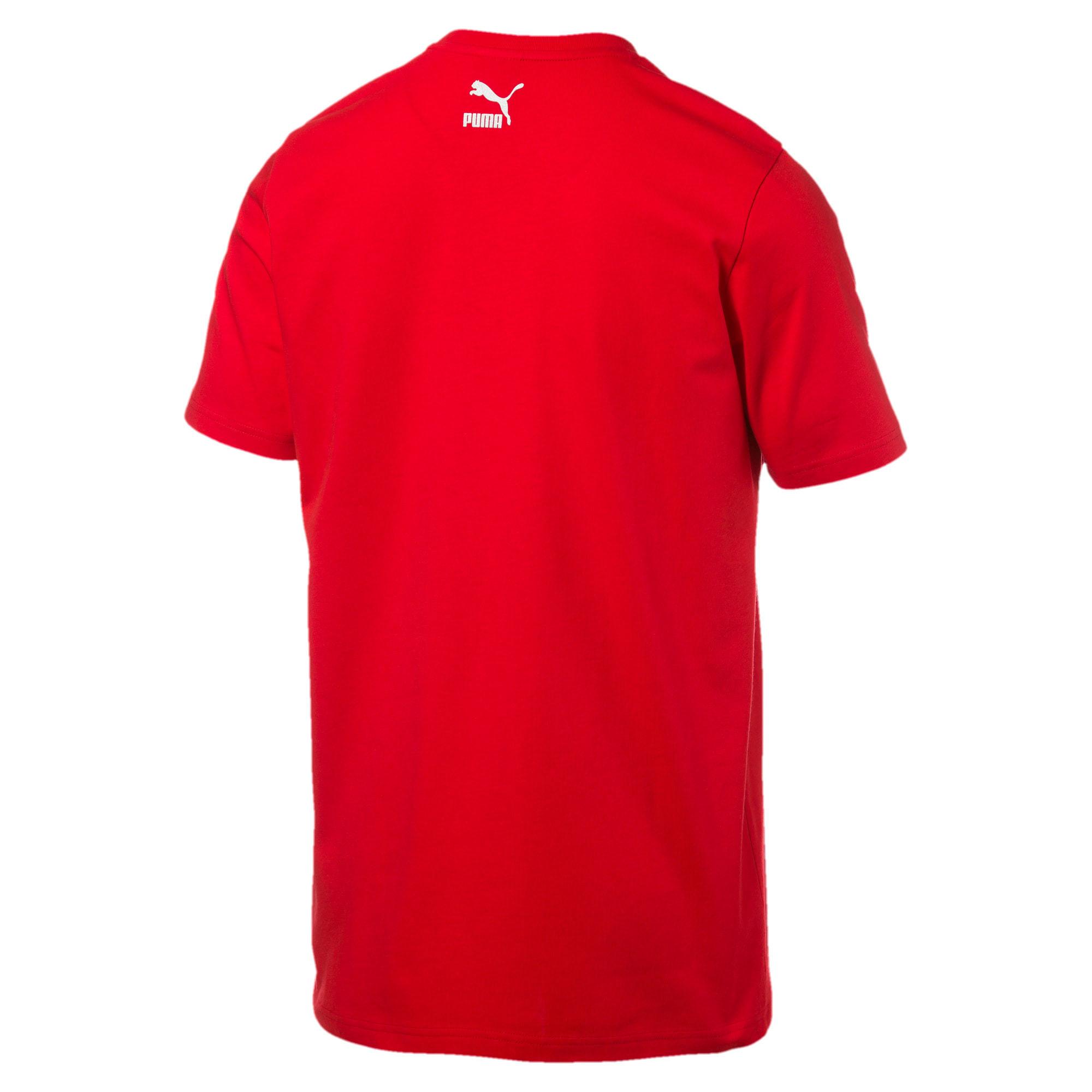 Thumbnail 2 of Space Explorer Herren T-Shirt, High Risk Red, medium