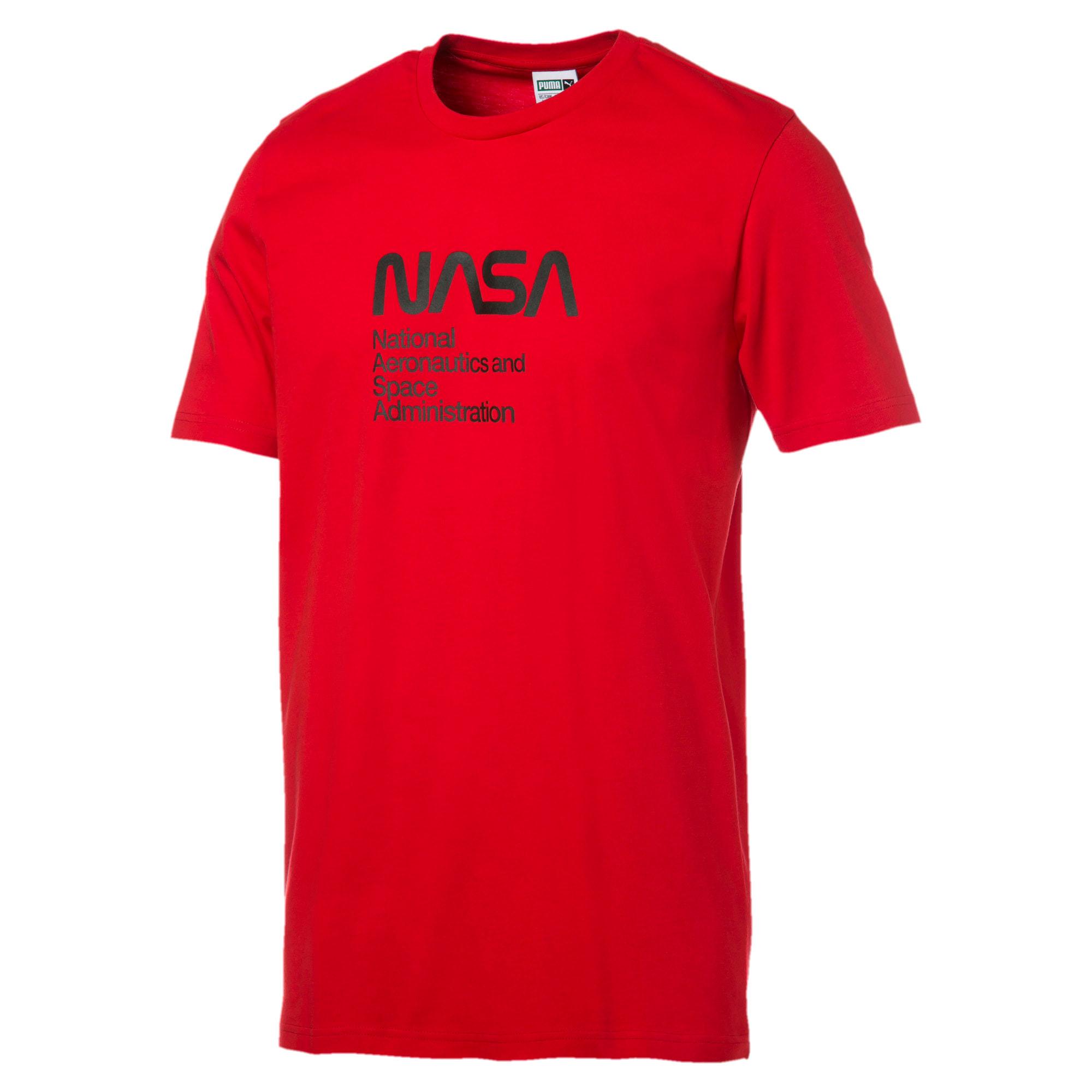 Thumbnail 1 of Space Explorer Herren T-Shirt, High Risk Red, medium