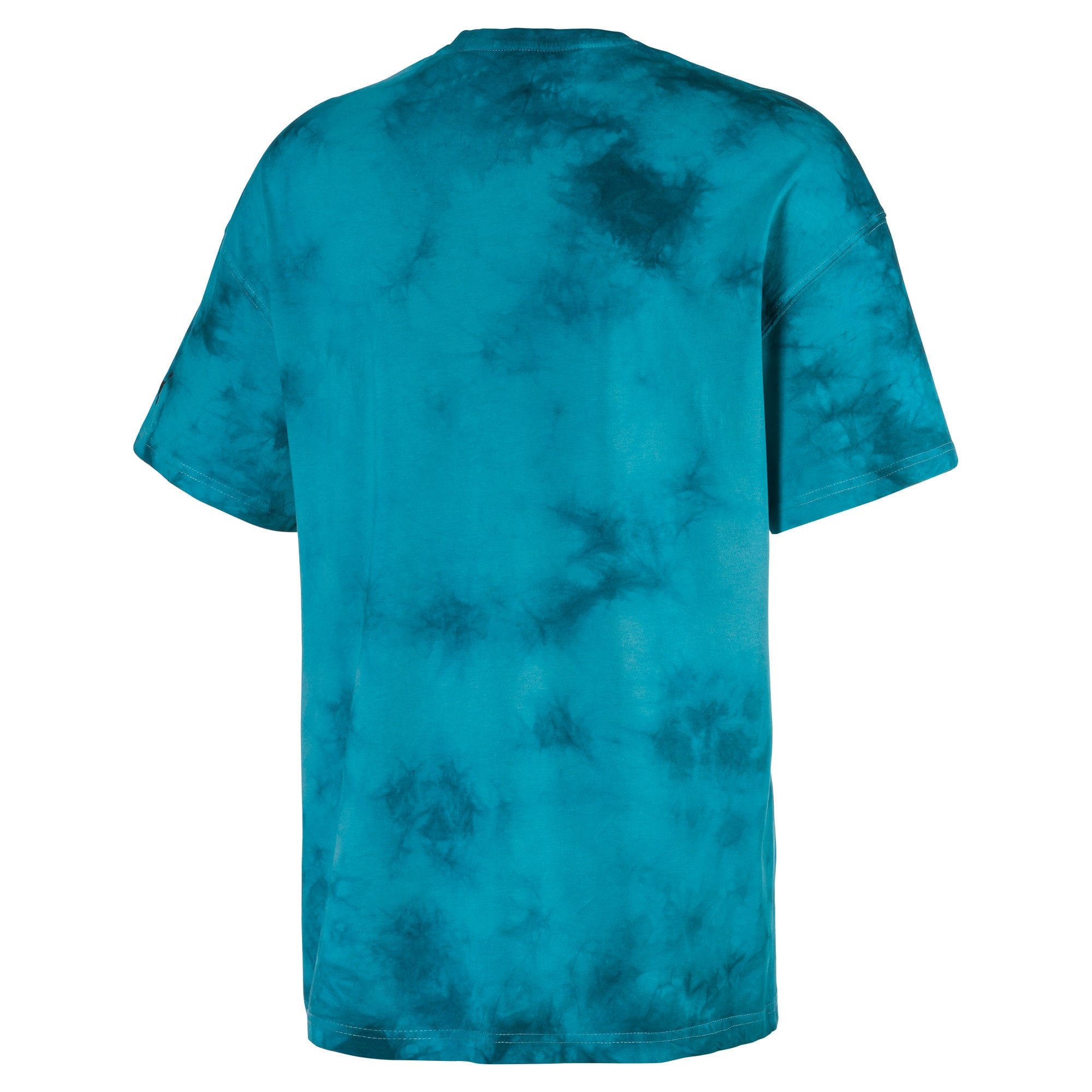 Boxy Men's Tee, Blue Coral, large