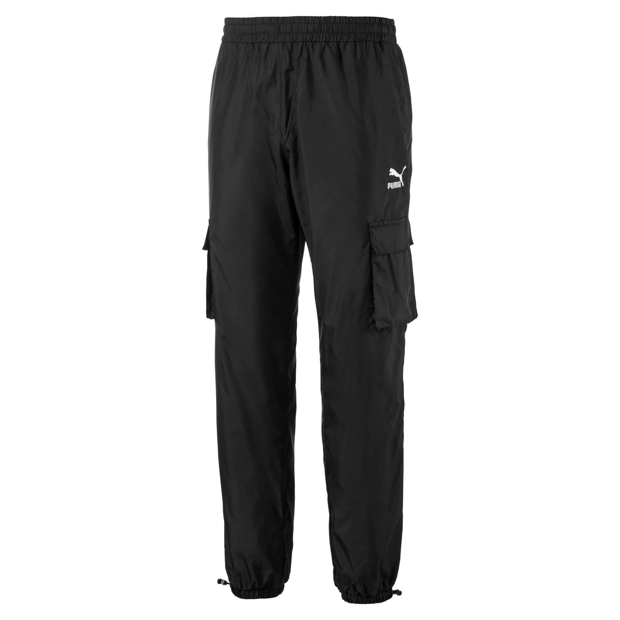 Thumbnail 1 of Lightweight Woven Men's Pants, Puma Black, medium