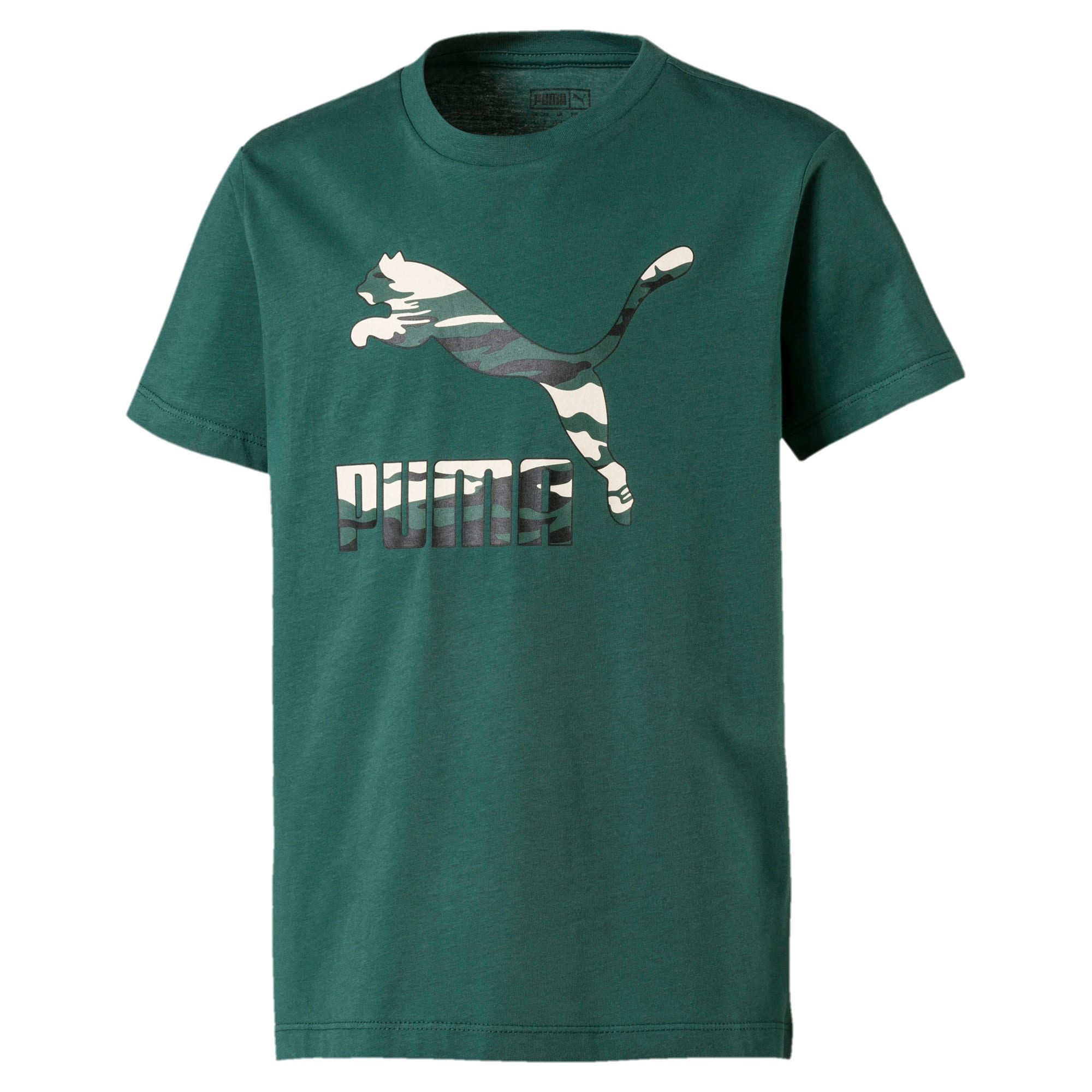 Thumbnail 1 of Street Wear Logo Kids' Tee, Bistro Green, medium