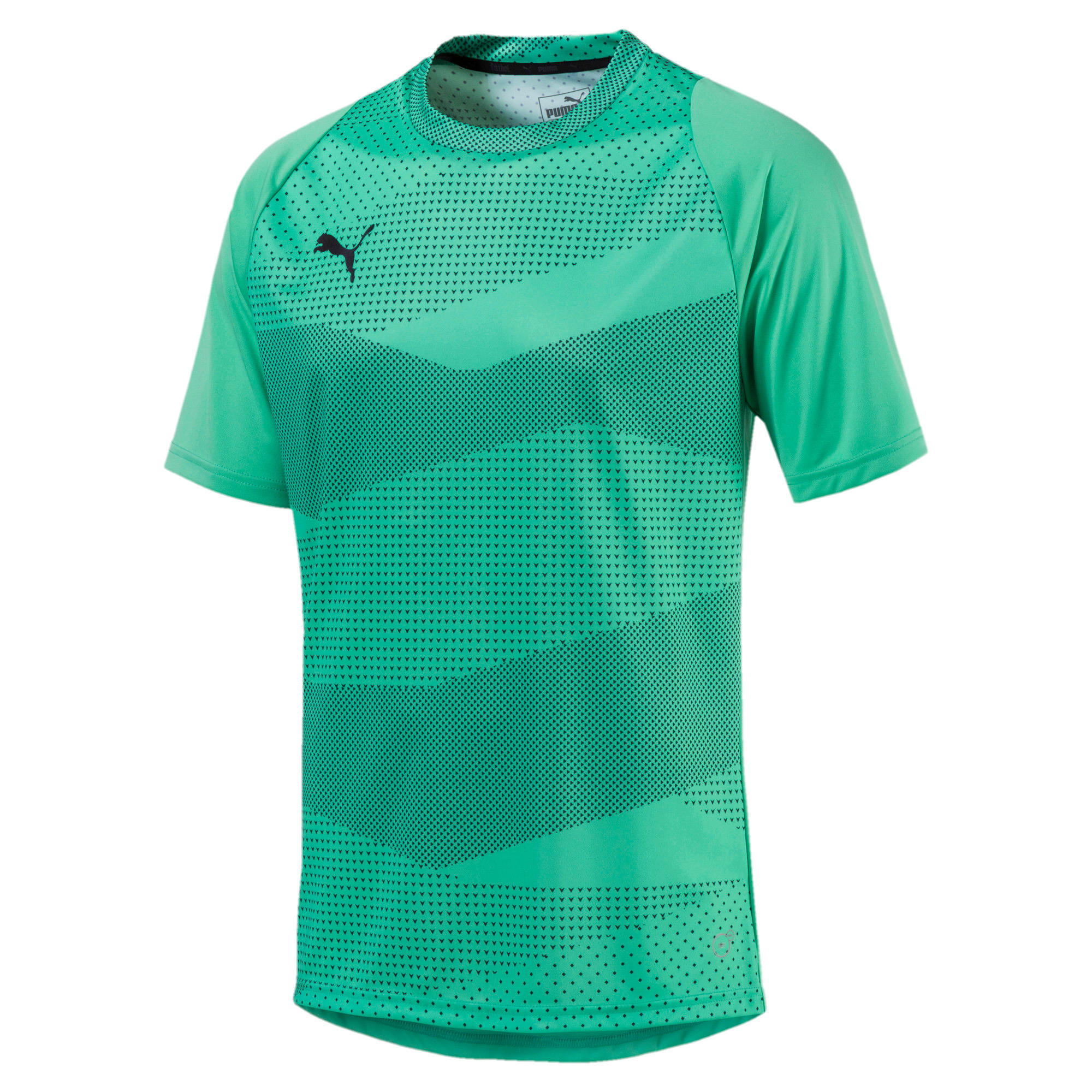 Thumbnail 1 of ftblNXT Graphic Core Men's Training Top, Biscay Green-Iron Gate, medium