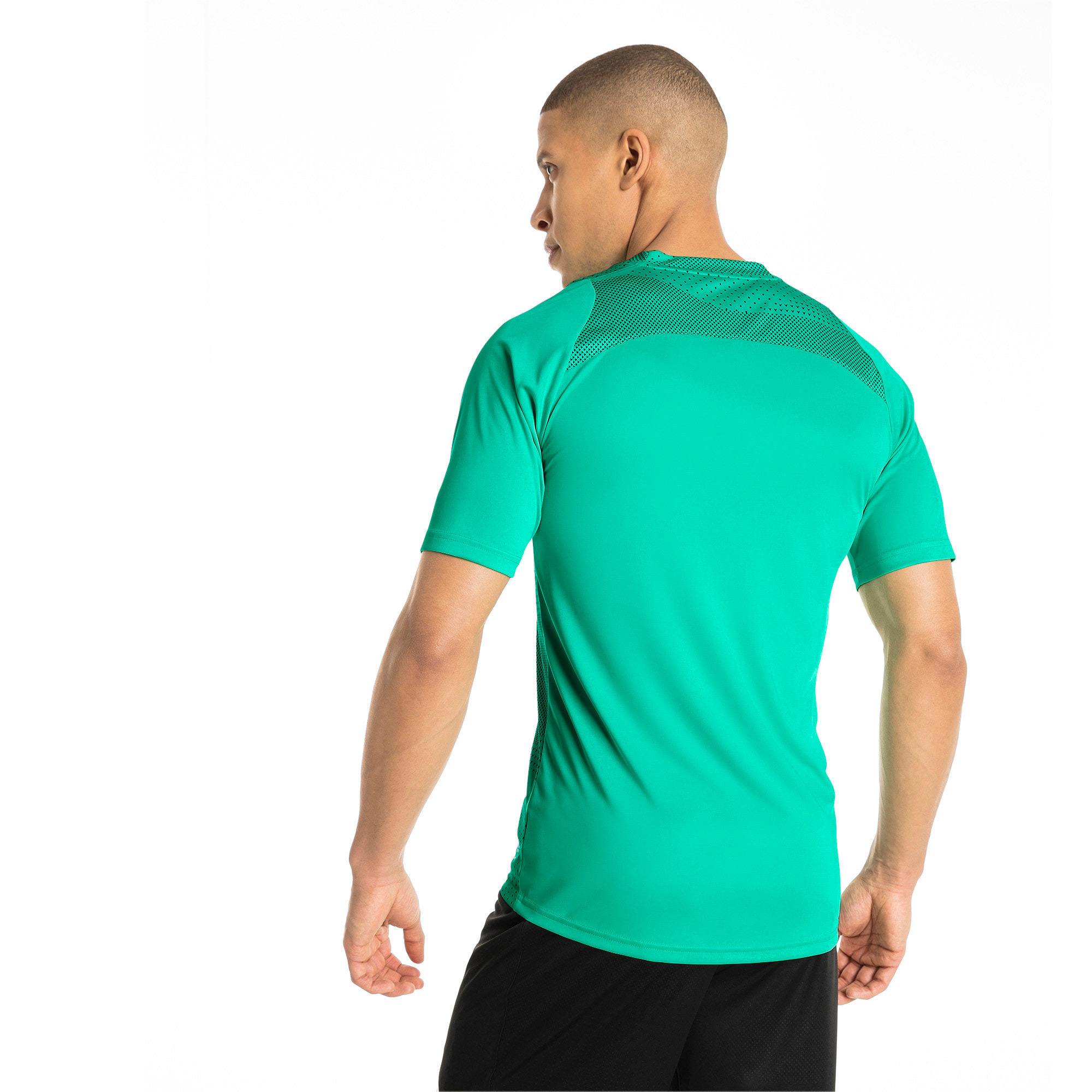 Thumbnail 3 of ftblNXT Graphic Core Men's Training Top, Biscay Green-Iron Gate, medium